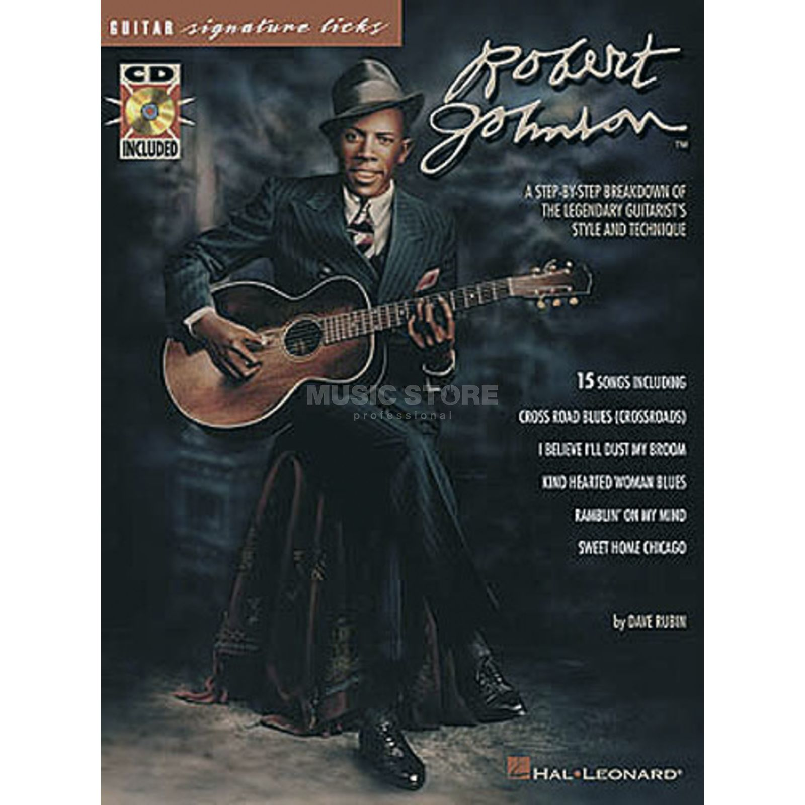 Hal Leonard Robert Johnson: Signature Licks Produktbild