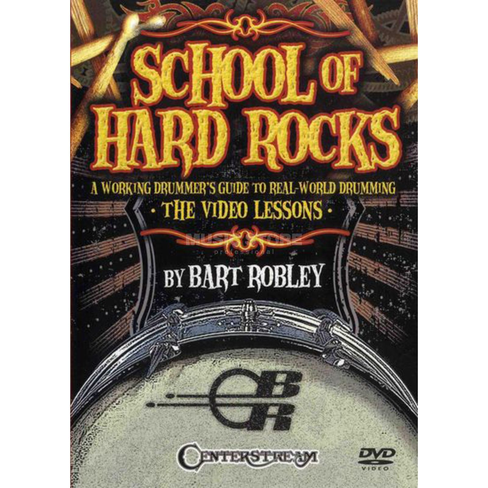 Hal Leonard School Of Hard Rocks 2 Drums DVDs Produktbillede