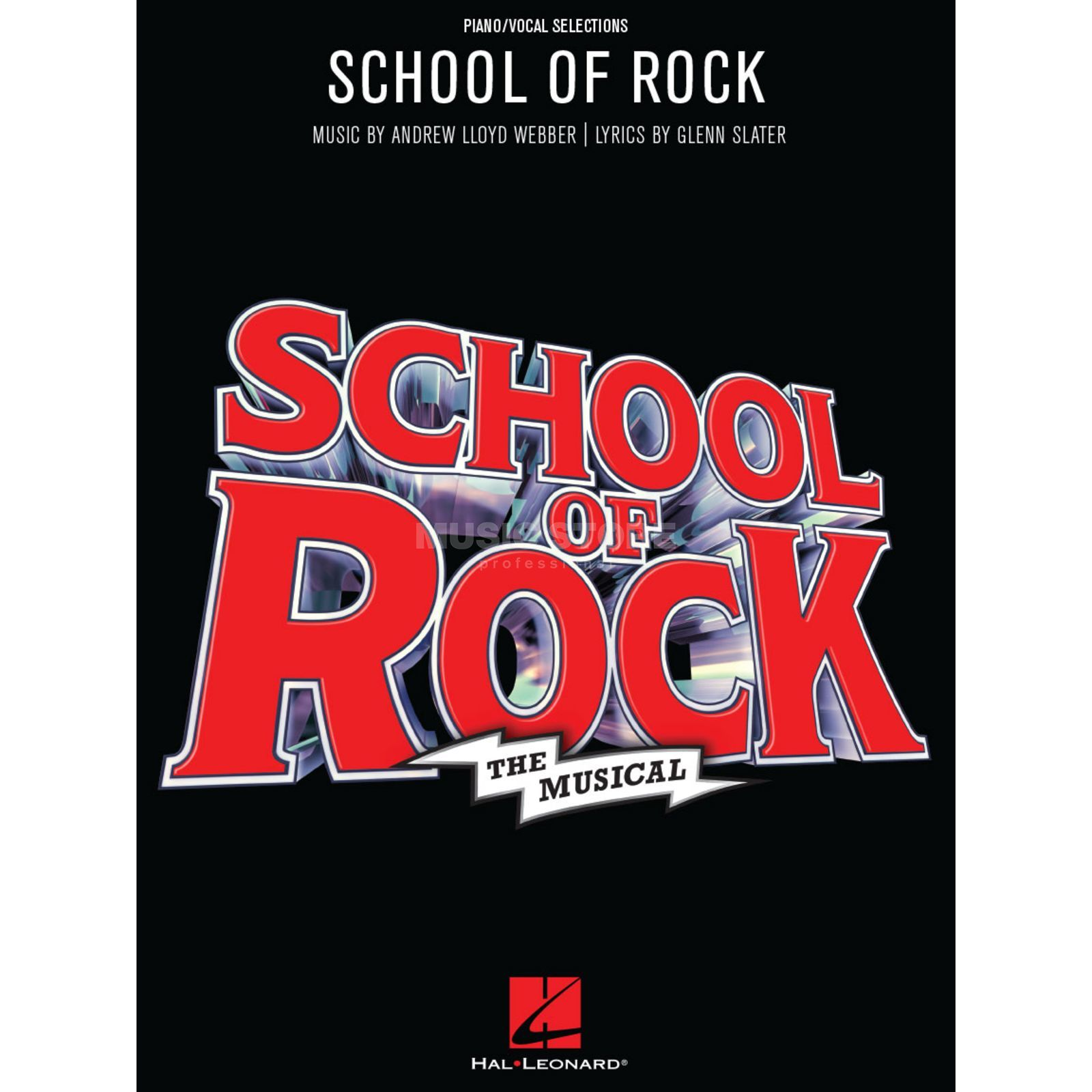 Hal Leonard School Of Rock: The Musical Product Image