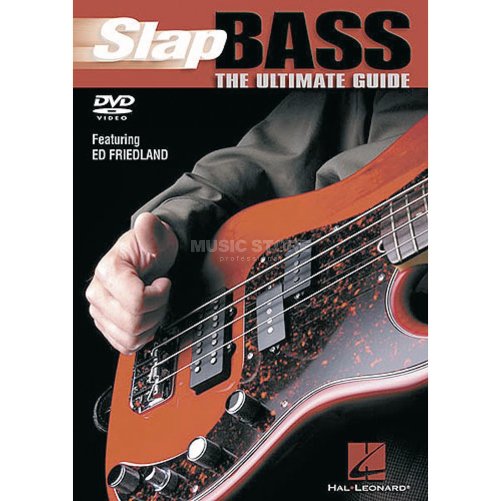 Hal Leonard Slap the Bass Ultimate Guide, DVD Produktbillede