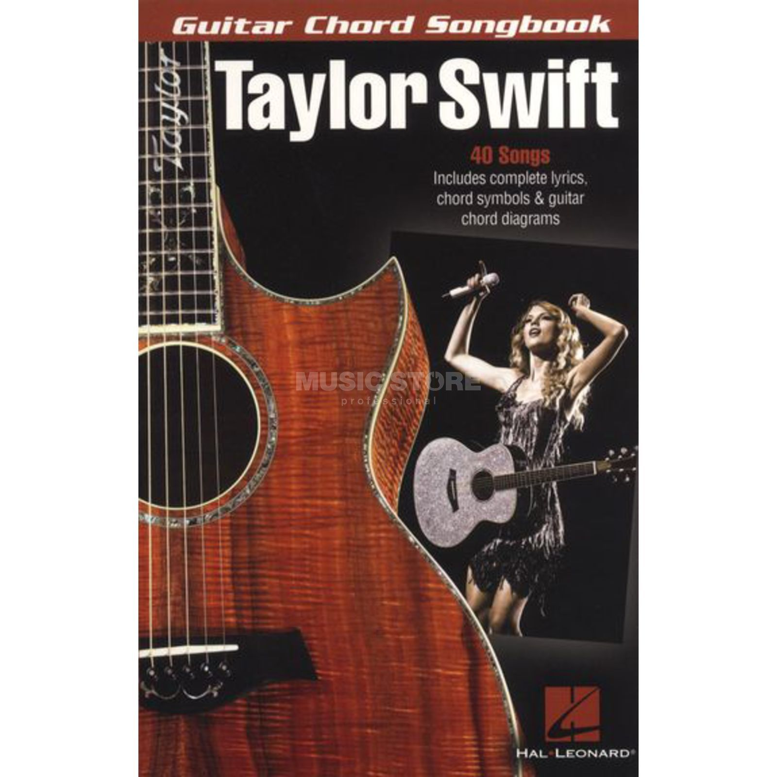 Hal Leonard Taylor Swift Guitar Chord Songbook