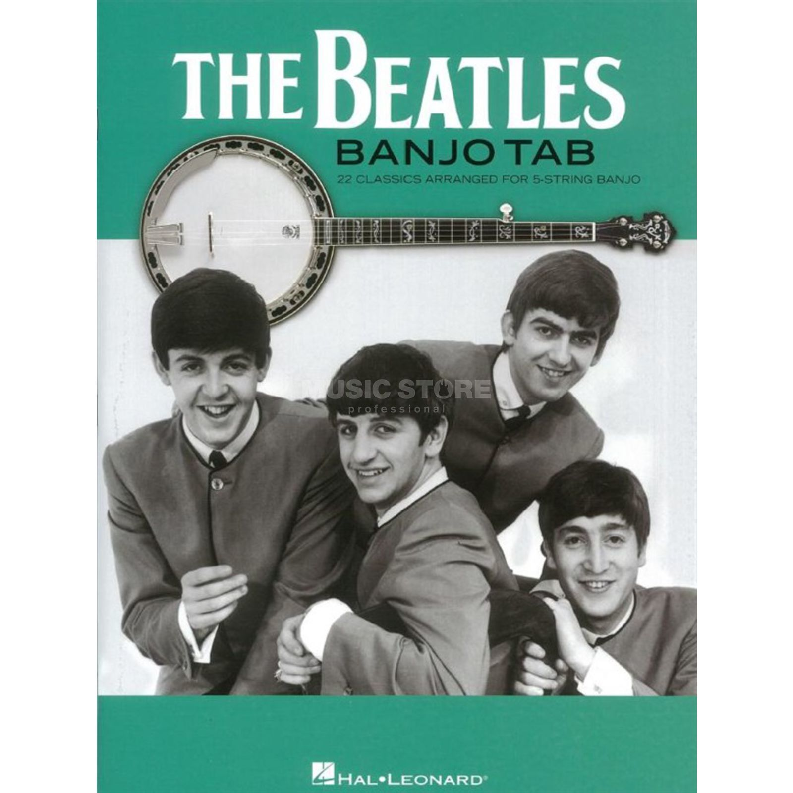Hal Leonard The Beatles Banjo Tab 22 Classics For 5-String Banjo Produktbild