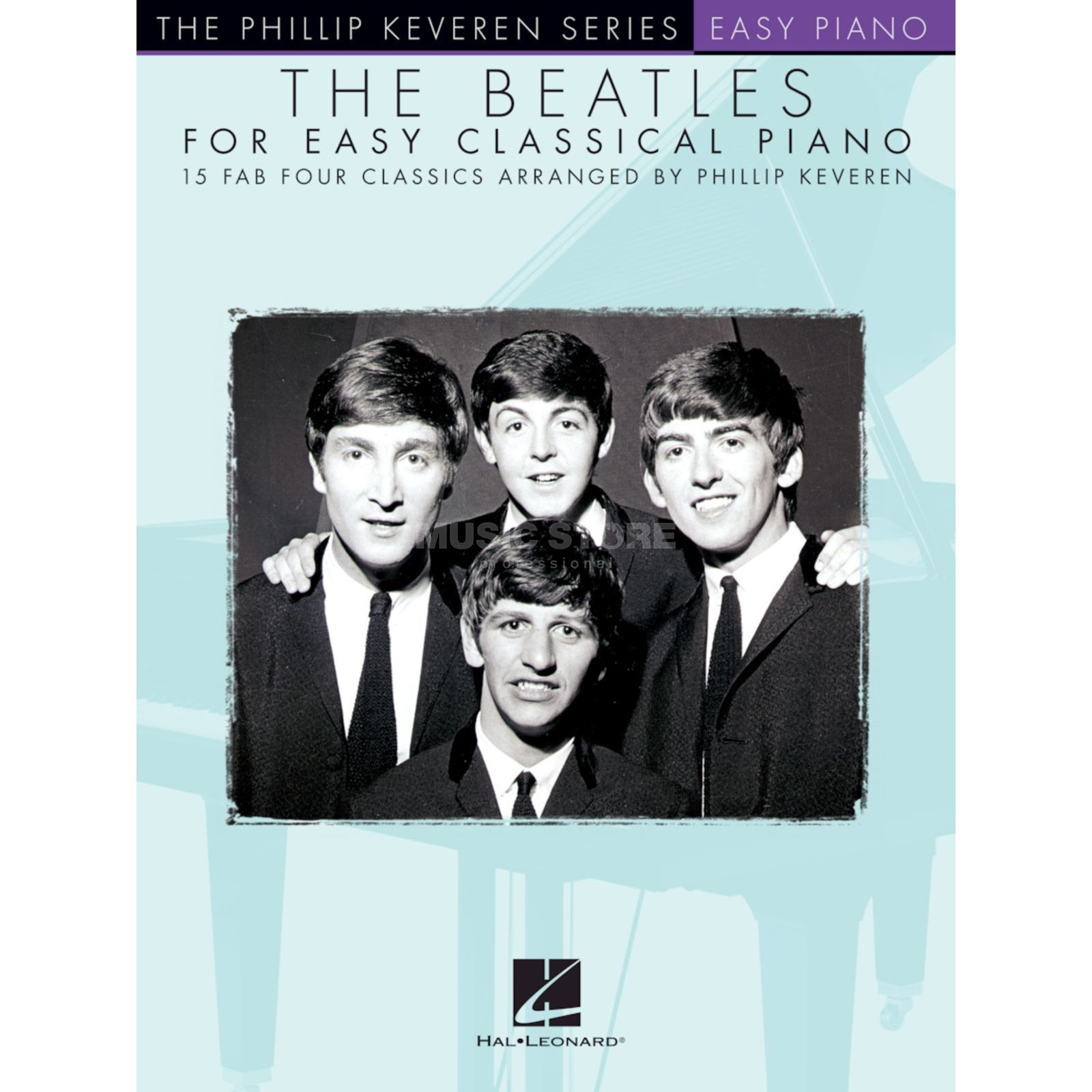 Hal Leonard The Beatles For Easy Classical Piano Product Image
