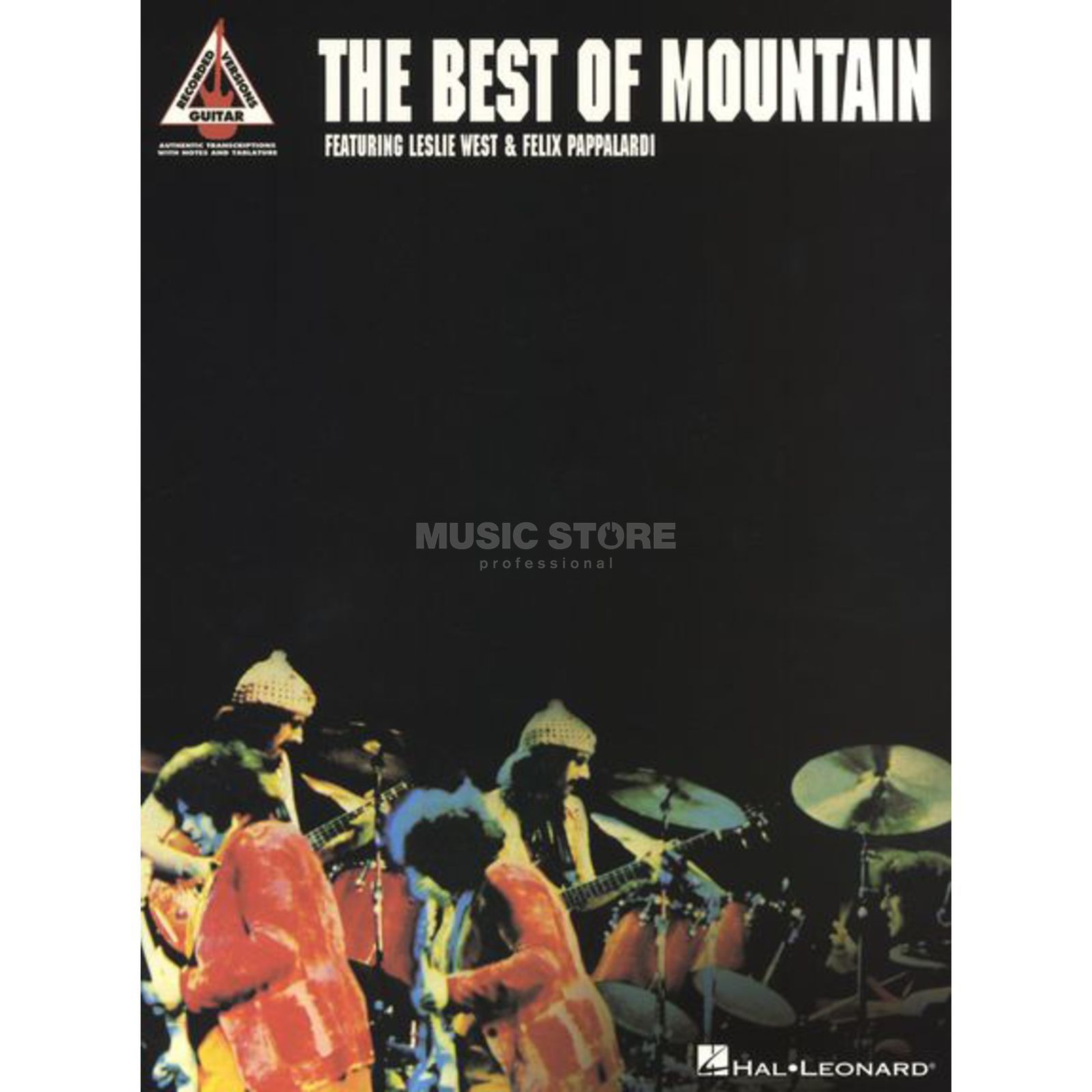 Hal Leonard The Best Of Mountain Guitar Recorded Versions TAB Produktbild