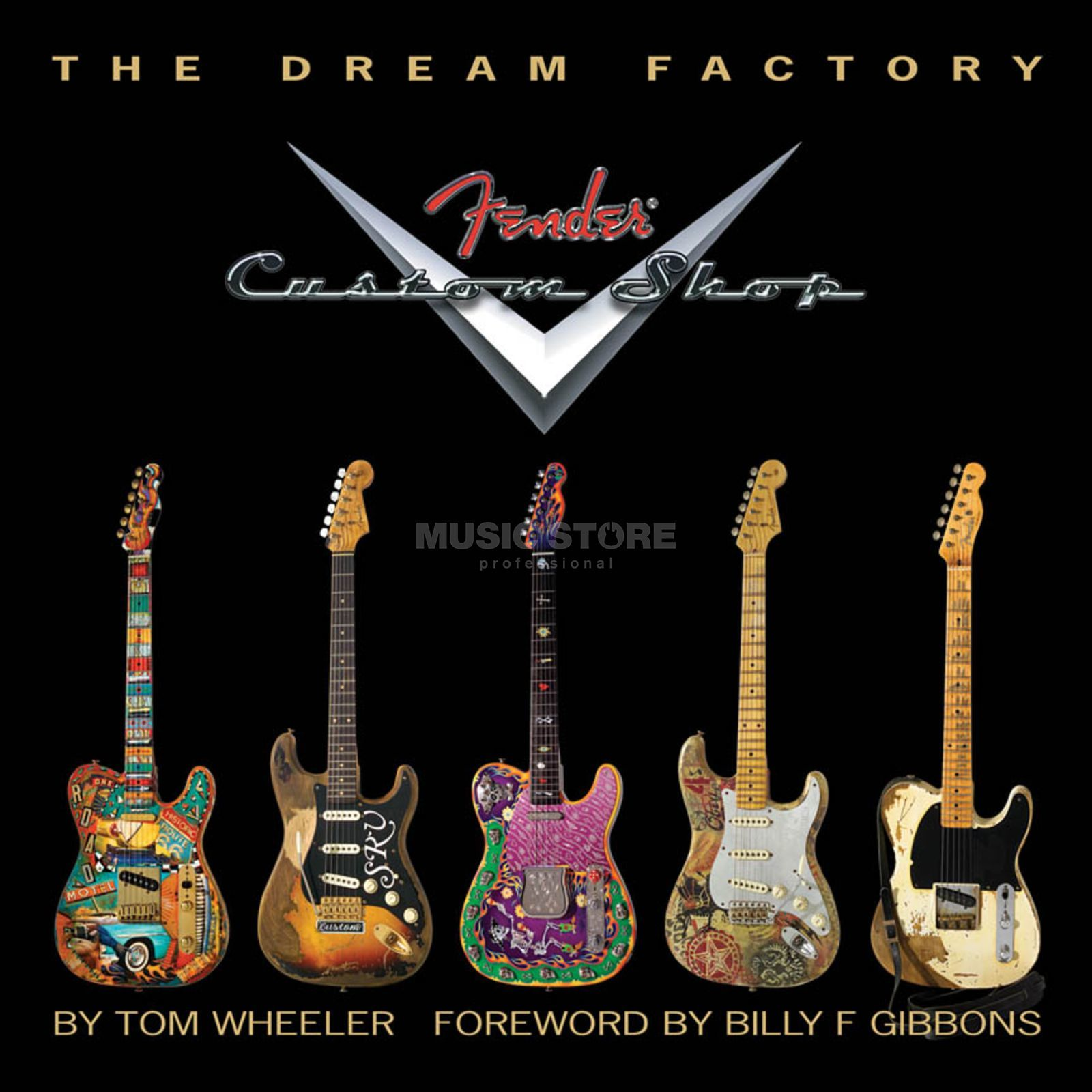 Hal Leonard The Dream Factory - Fender Tom Wheeler, Limited Edition Produktbillede
