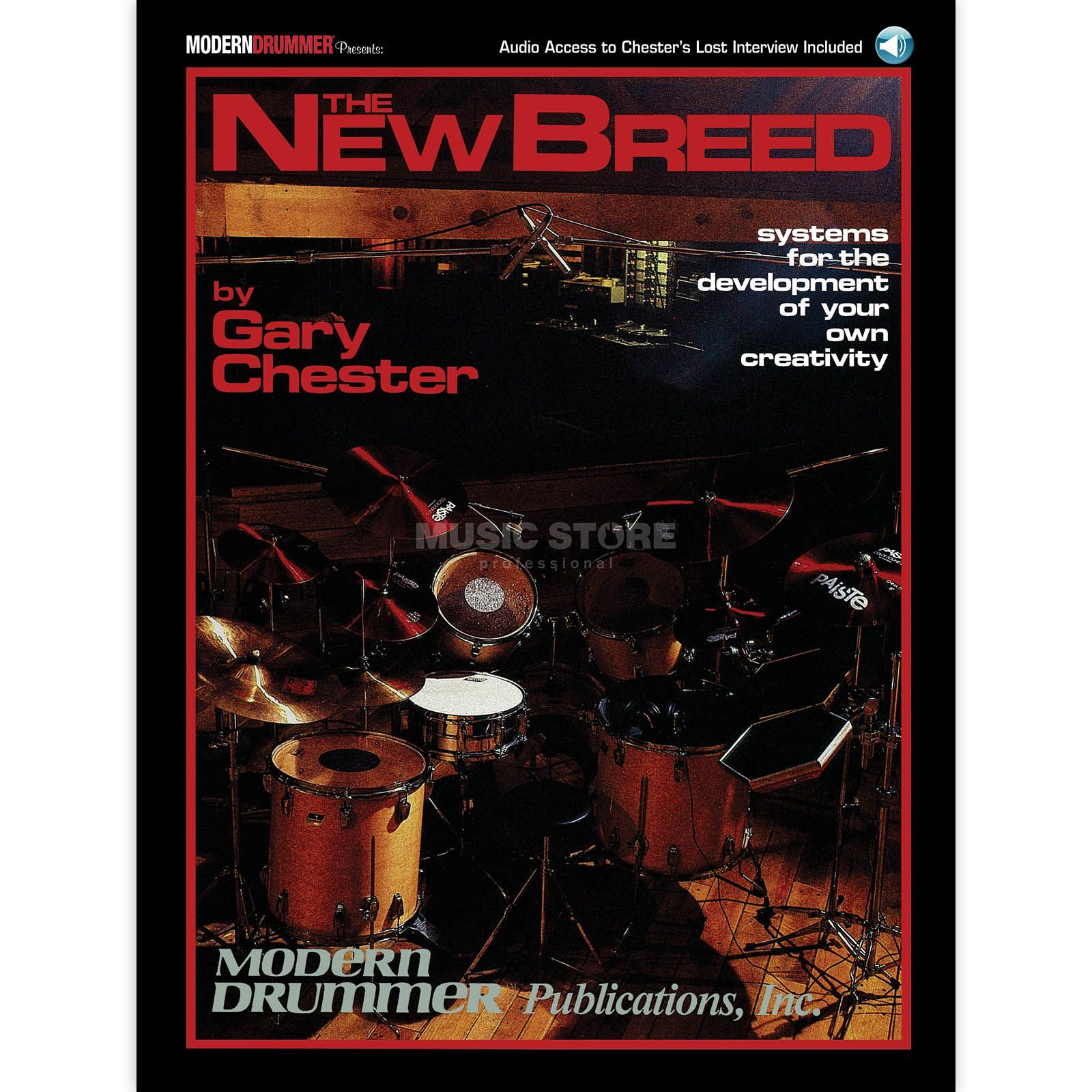 Hal Leonard The New Breed Gary Chester, Book and CD Produktbillede