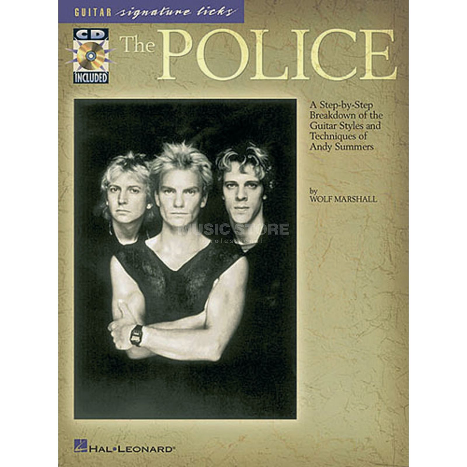 Hal Leonard The Police: Guitar Signature Licks Produktbild