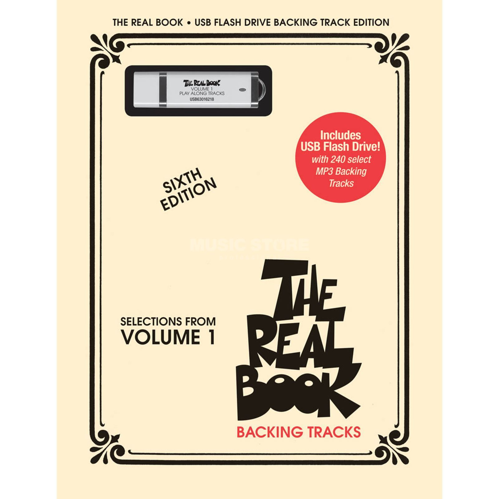 Hal Leonard The Real Book: Volume 1 USB C Instrumente - Sixth Edition Produktbillede