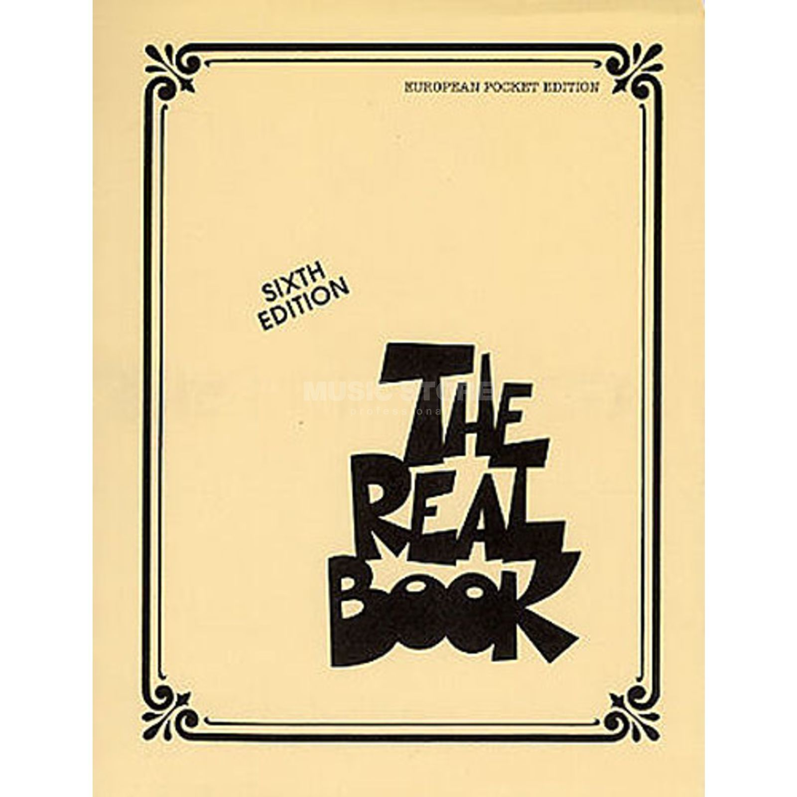 Hal Leonard The Real Book: Volume I Pocket C Instrumente - Sixth Edition Produktbild