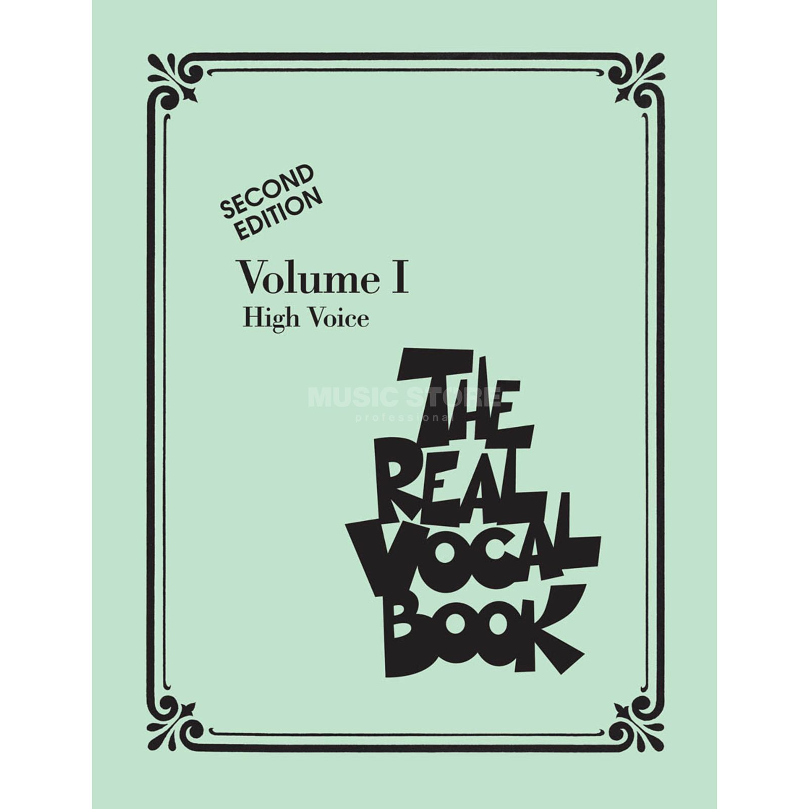 Hal Leonard The Real Vocal Book I High Voice Produktbillede