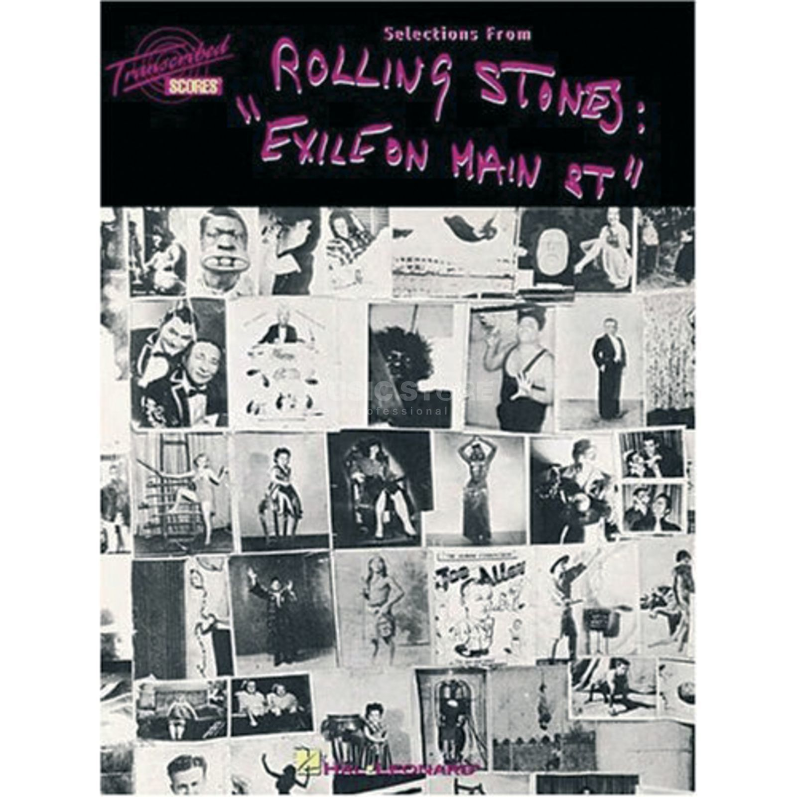 Hal Leonard The Rolling Stones: Exile On Main Street Produktbild