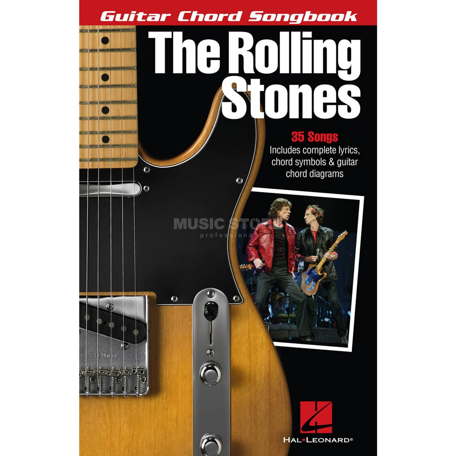 Hal Leonard The Rolling Stones: Guitar Chord Songbook Produktbild
