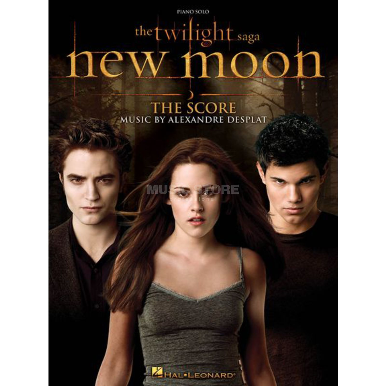 Hal Leonard The Twilight Saga  - New Moon Piano Solo Product Image