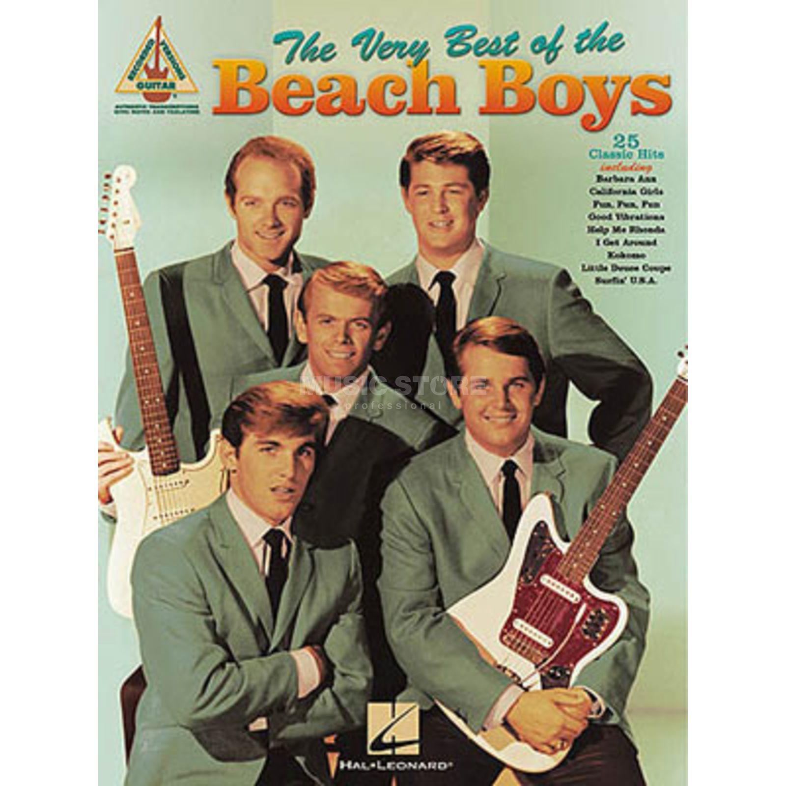 Hal Leonard The Very Best Of Beach Boys Guitar Recorded Versions TAB Produktbild