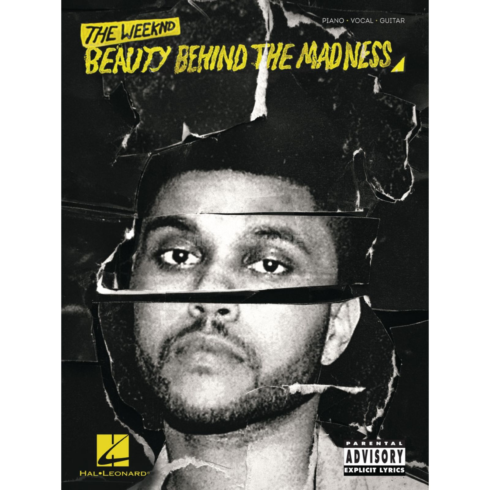 Hal Leonard The Weeknd: Beauty Behind The Madness PVG Produktbild