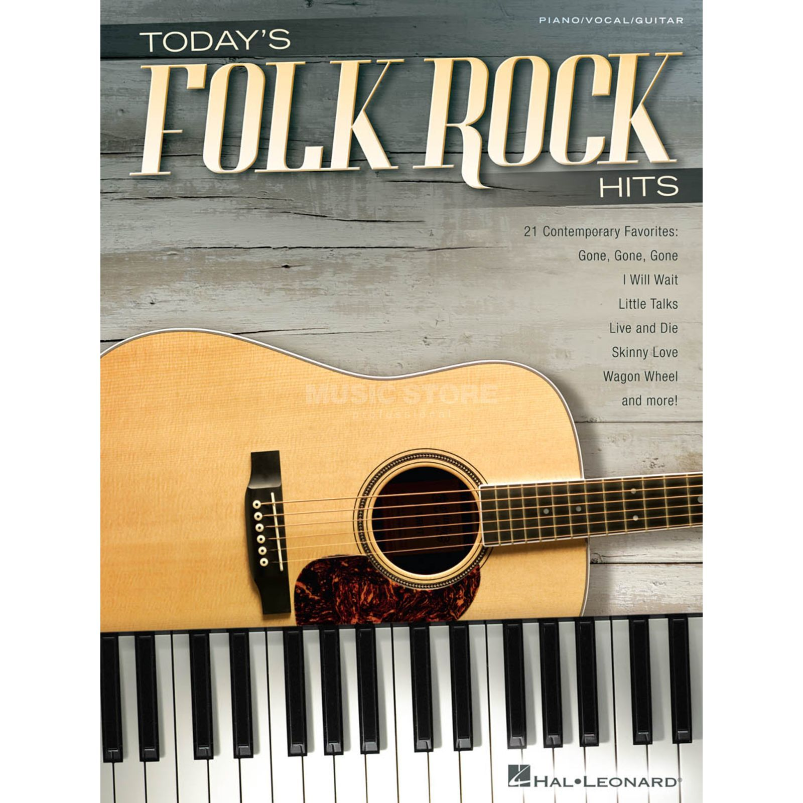 Hal Leonard Today's Folk Rock Hits Produktbild