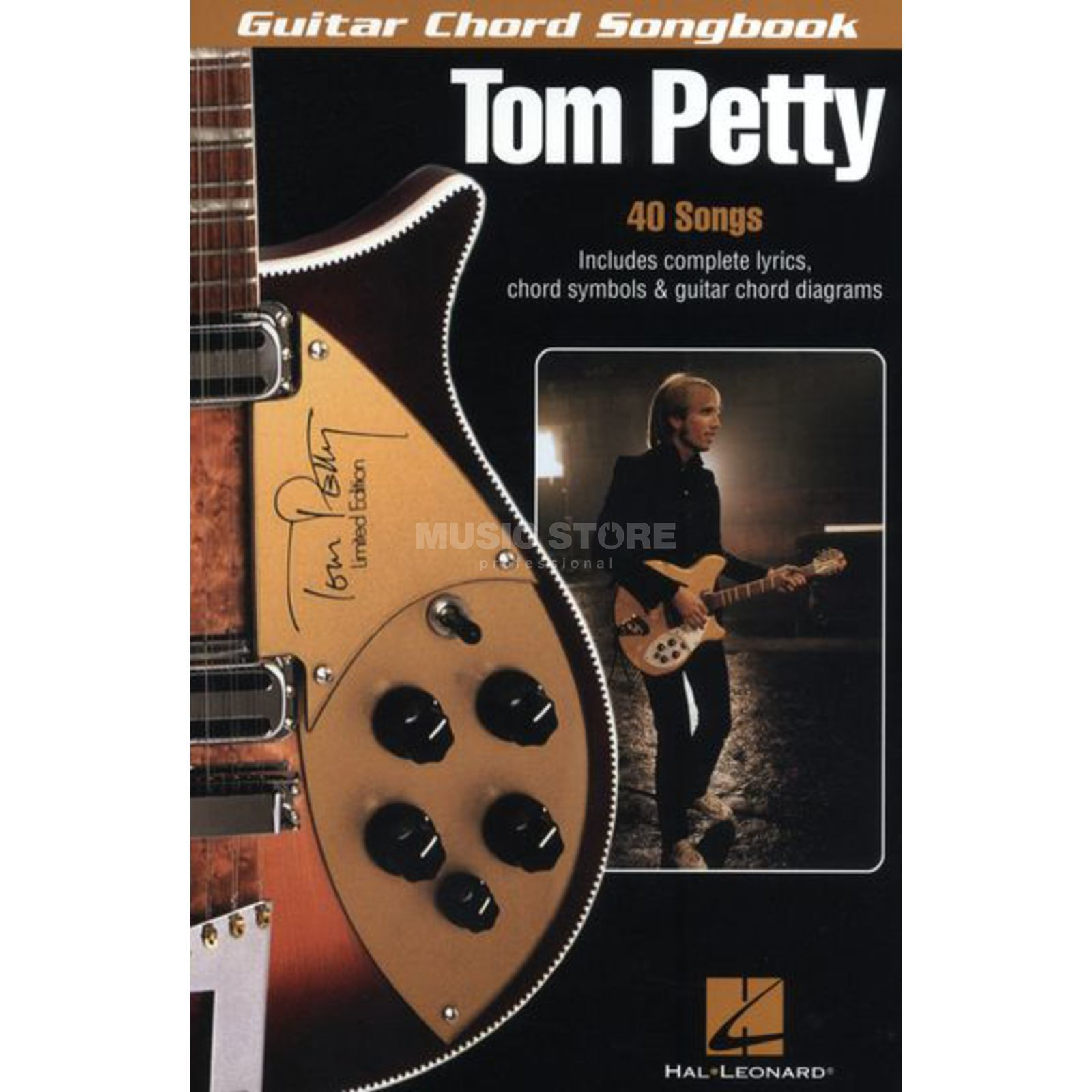 Hal Leonard Tom Petty Guitar Chord Book Lyrics & Chords Produktbillede