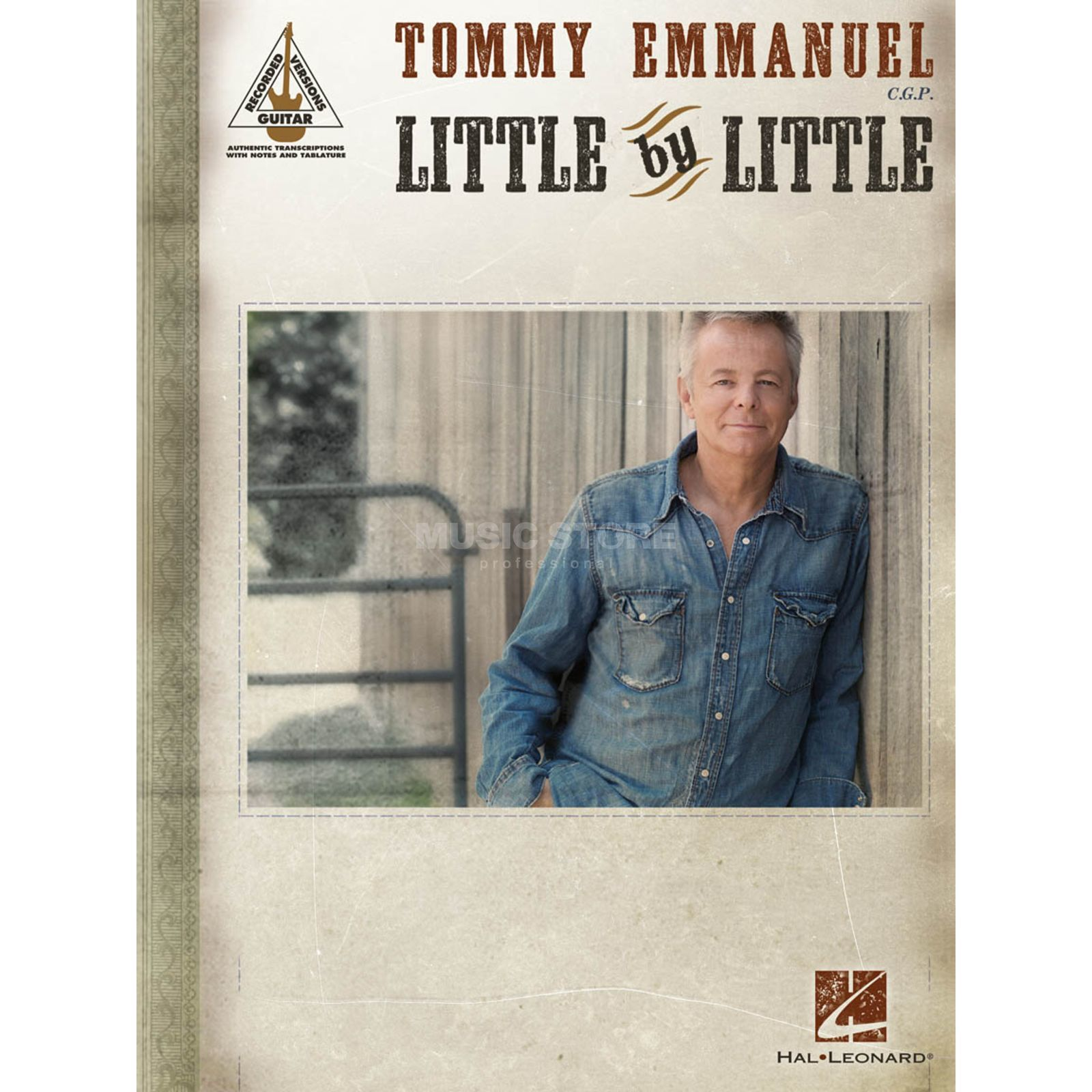 Hal Leonard Tommy Emmanuel: Little By Little Produktbillede