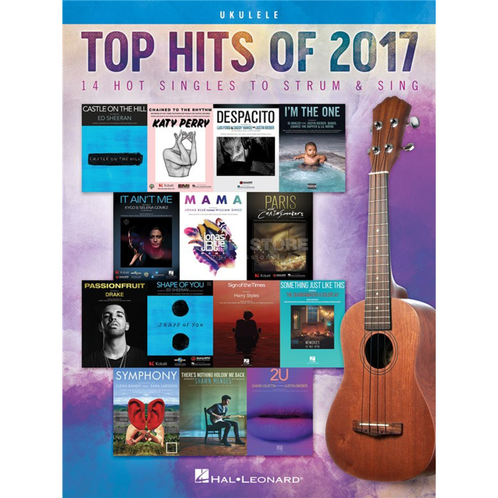 Hal Leonard Top Hits Of 2017 Image du produit