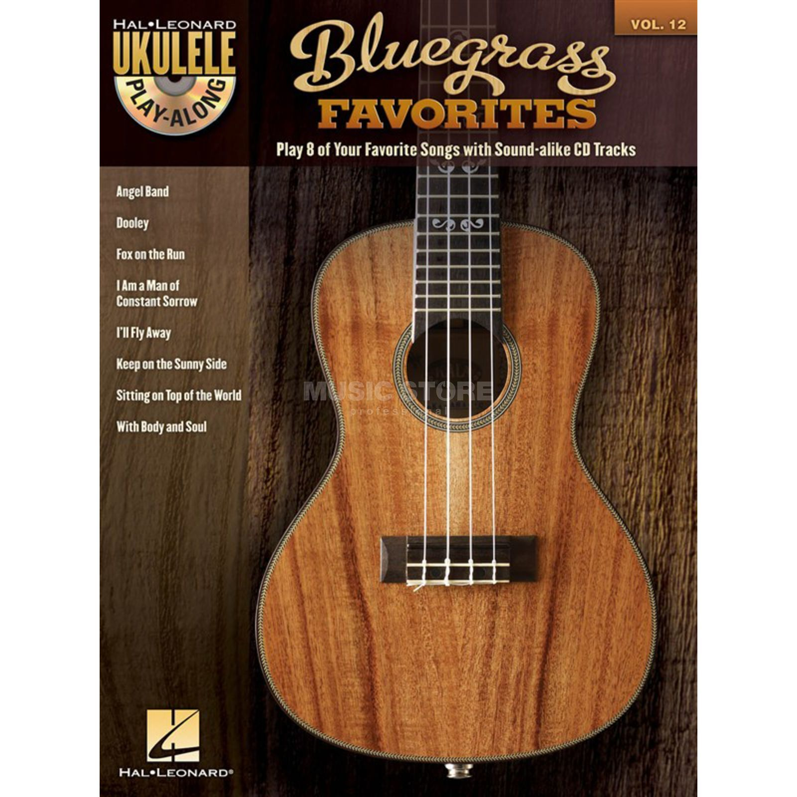 Hal Leonard Ukulele Play-Along: Bluegrass Vol. 12, Ukulele mit CD Produktbild