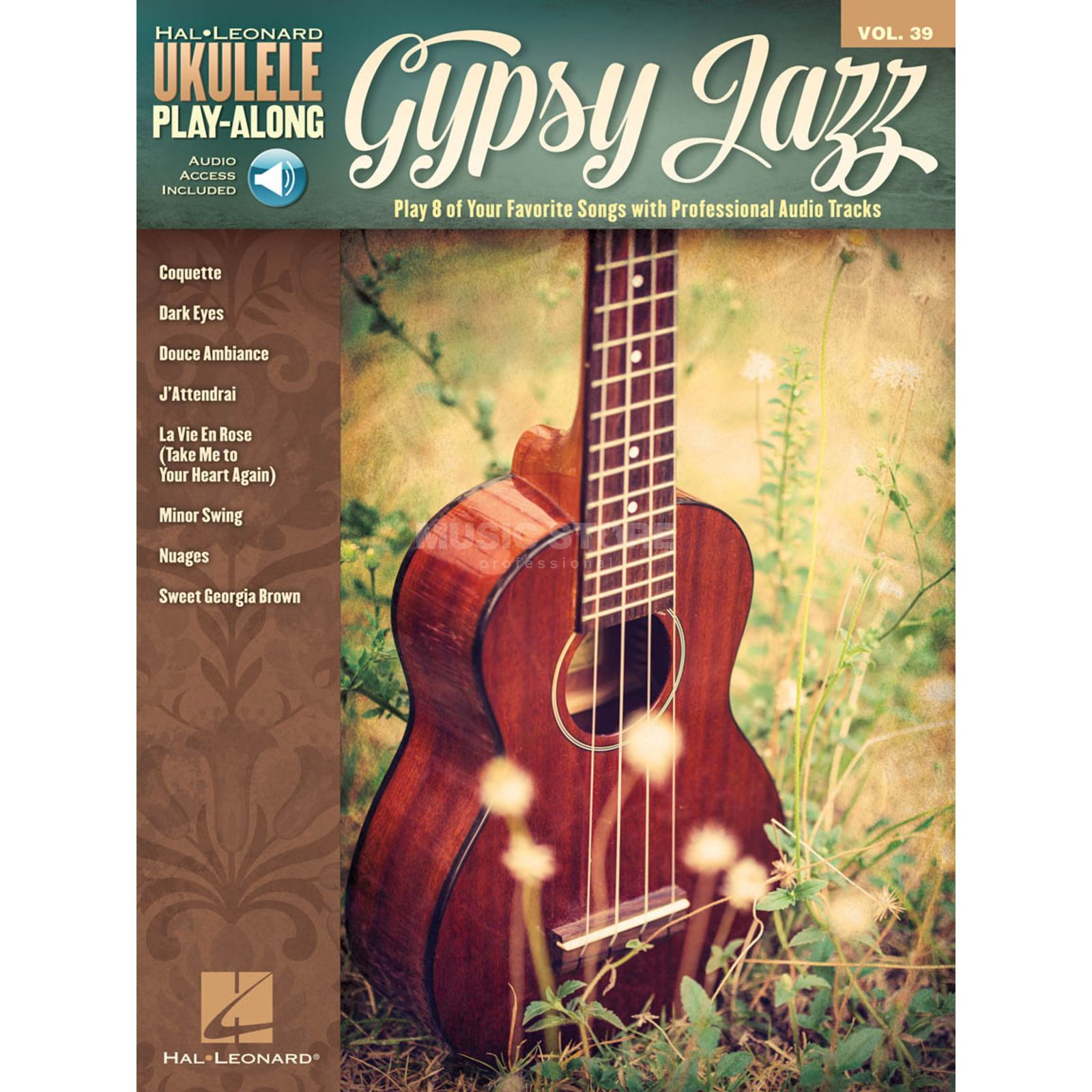 Hal Leonard Ukulele Play-Along: Gypsy Jazz Vol. 39, Ukulele mit Download Produktbild