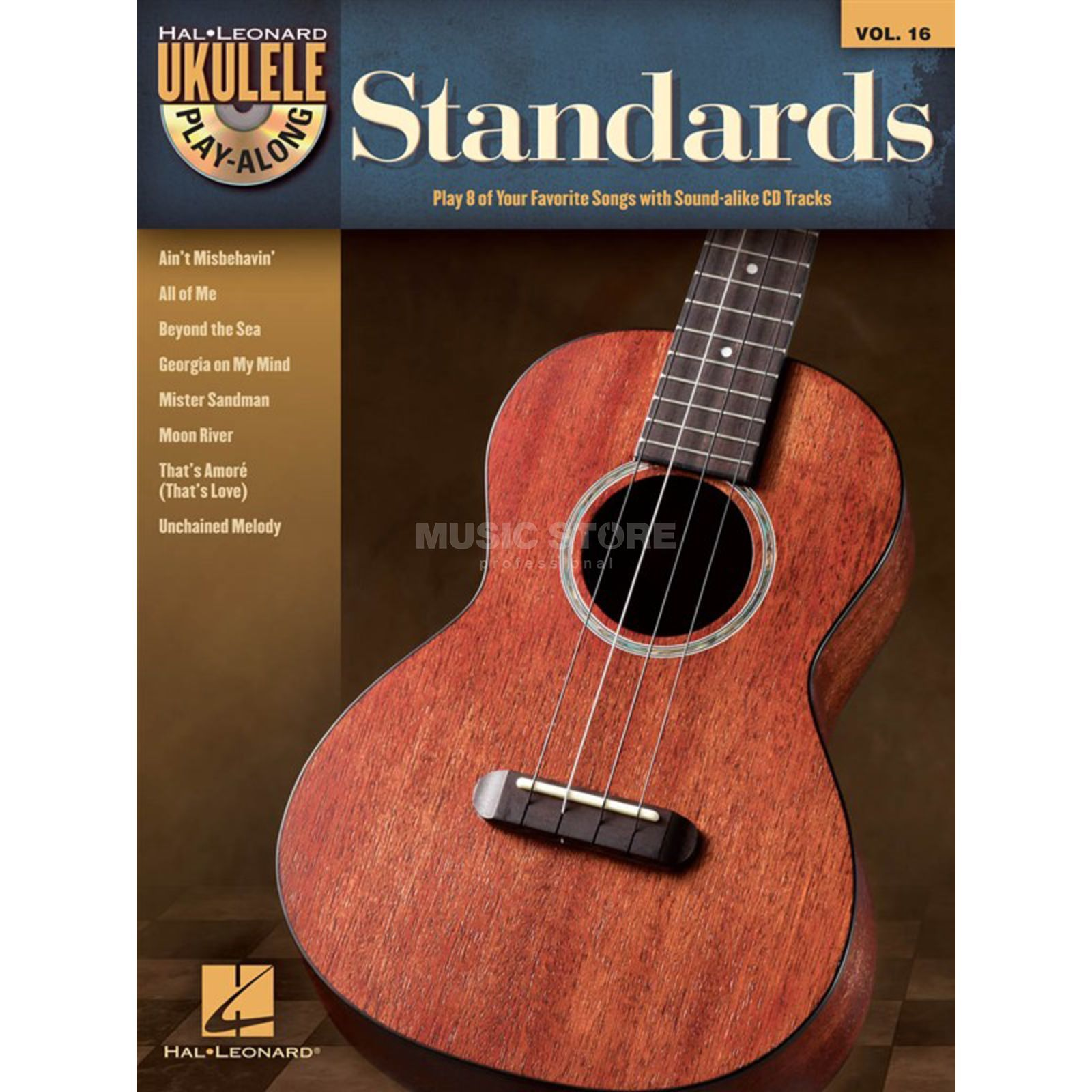 Hal Leonard Ukulele Play-Along: Standards Vol. 26, Ukulele incl. CD Produktbillede