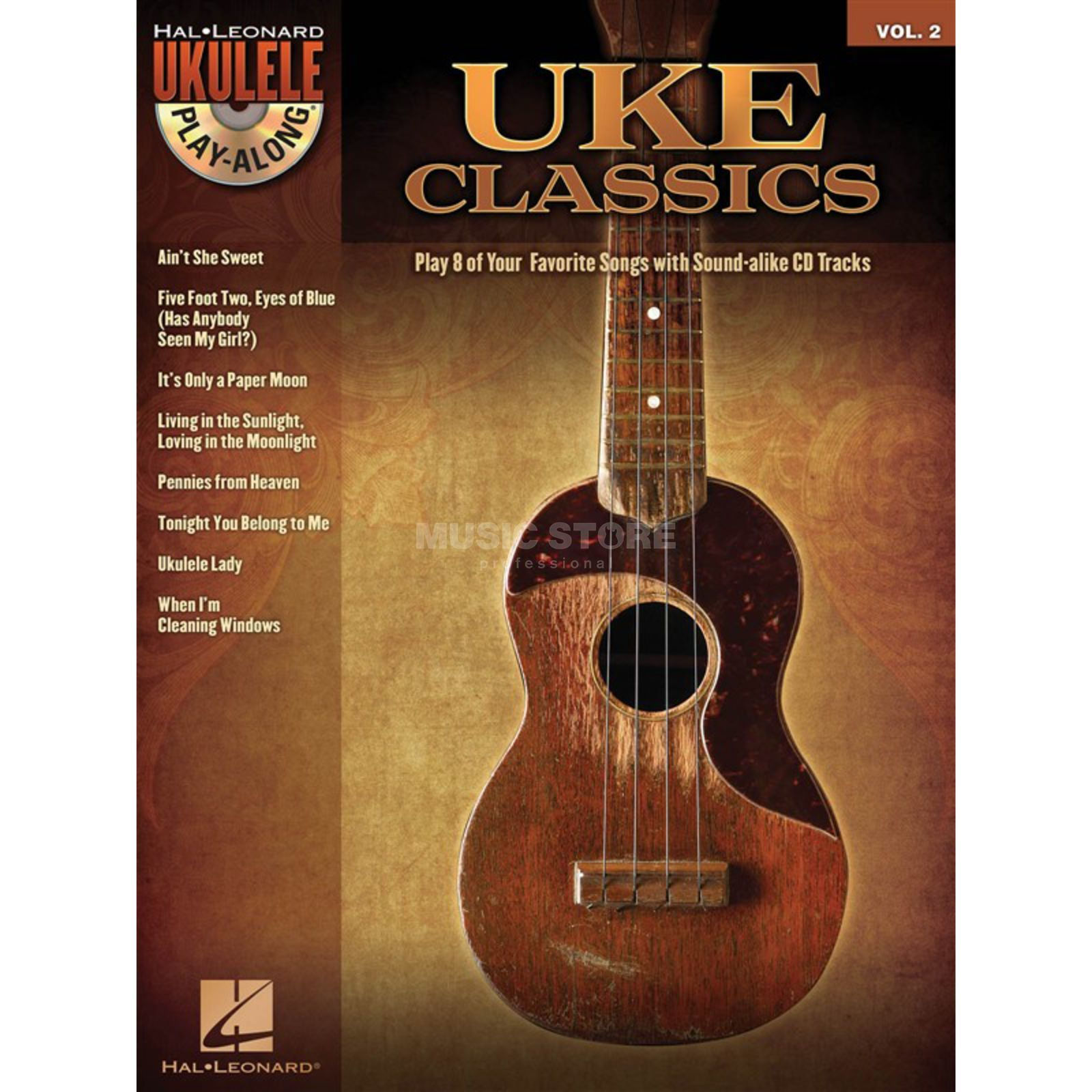 Hal Leonard Ukulele Play-Along: Uke Class. Vol. 2, Ukulele incl. CD Produktbillede