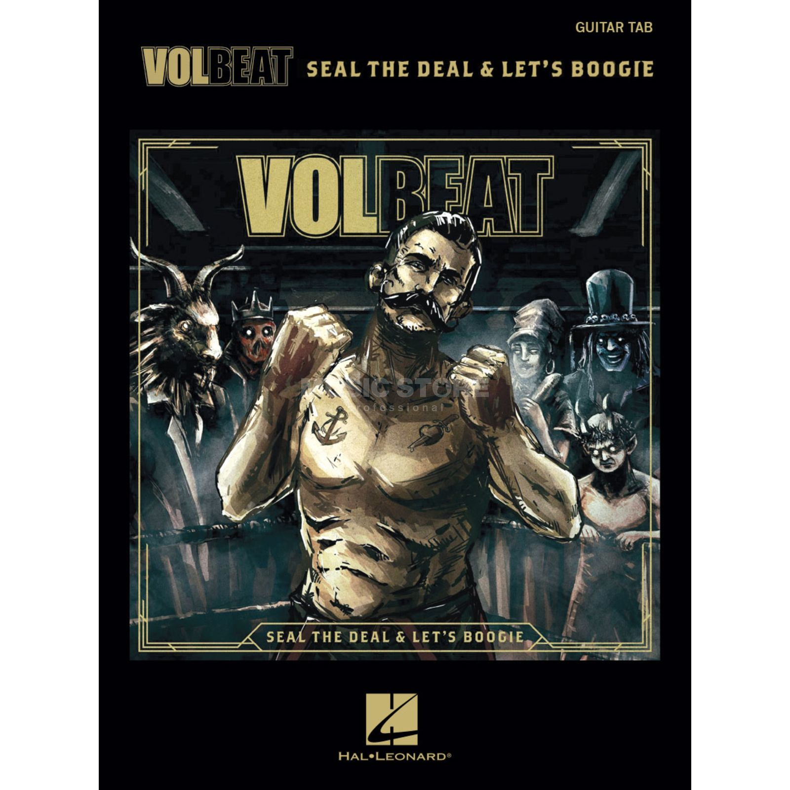 Hal Leonard Volbeat: Seal The Deal & Let's Boogie Produktbillede