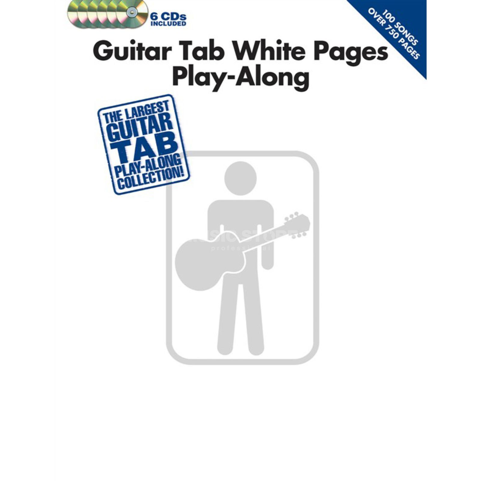 Hal Leonard White Pages Guitar Play-Along TAB, CD Produktbild