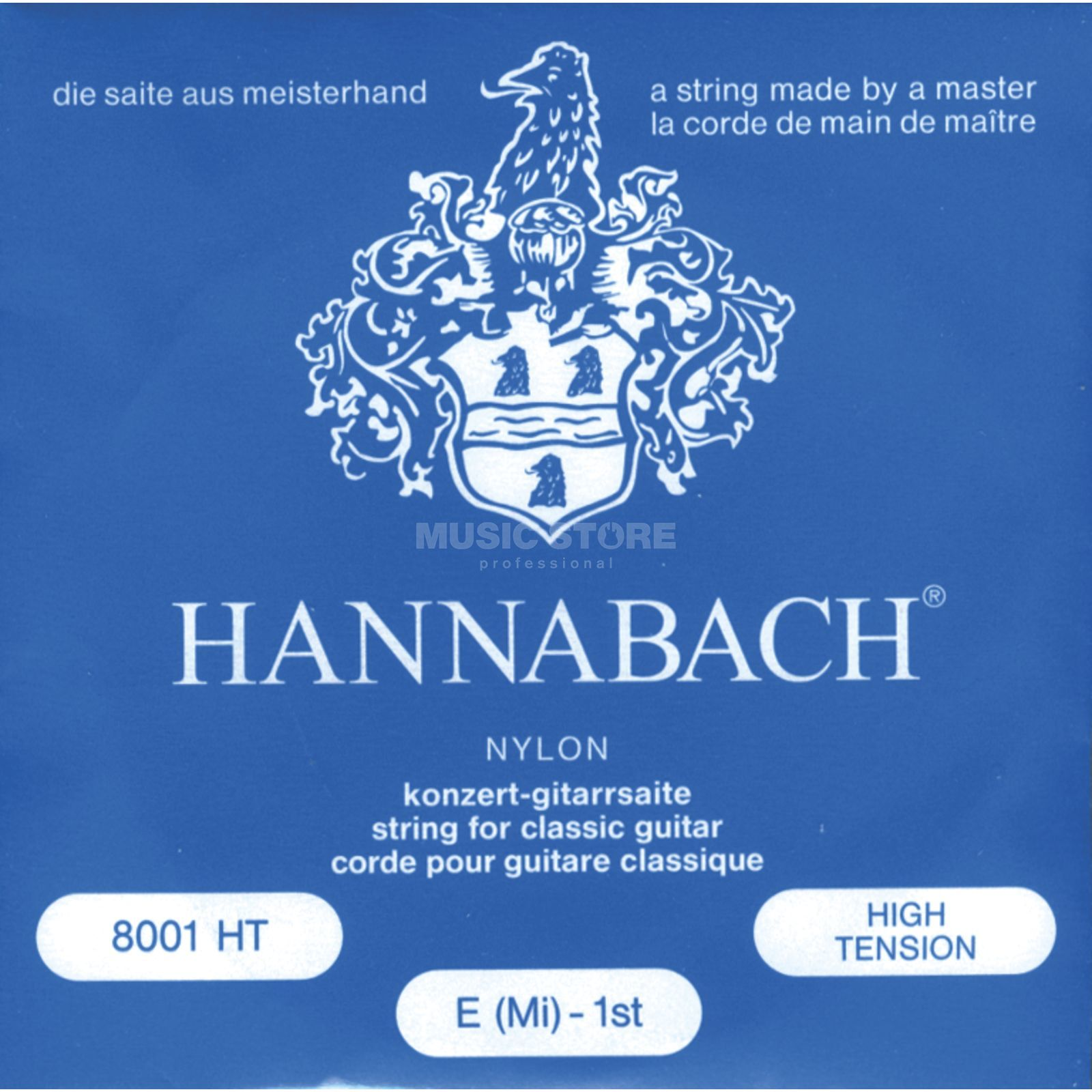 Hannabach 8001 HT Classical Strings High Tension Product Image