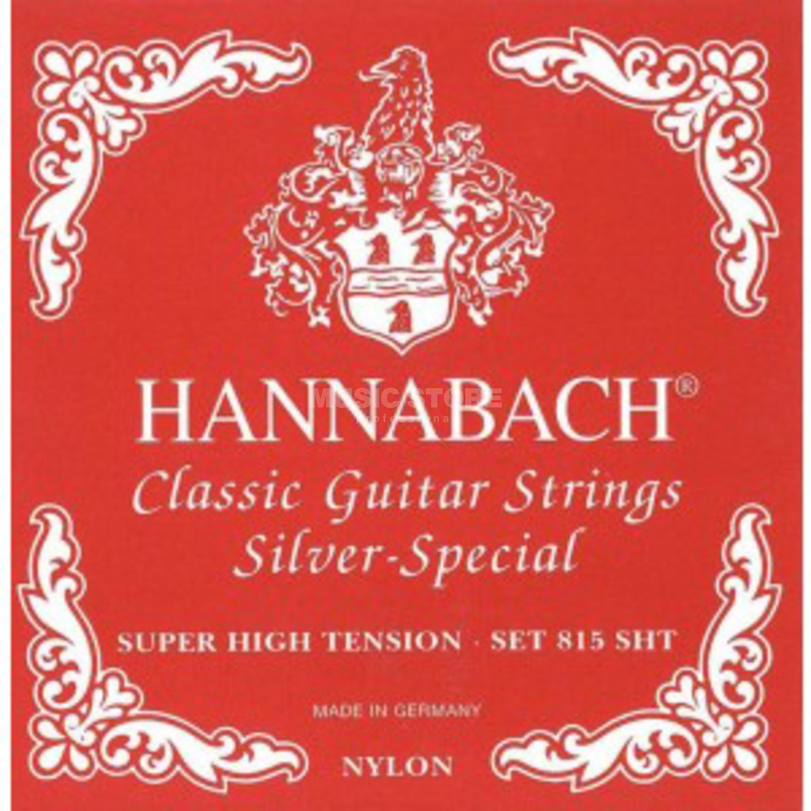 Hannabach K-Git.Saiten Satz 815 rot Nylon Super High Tension Produktbild