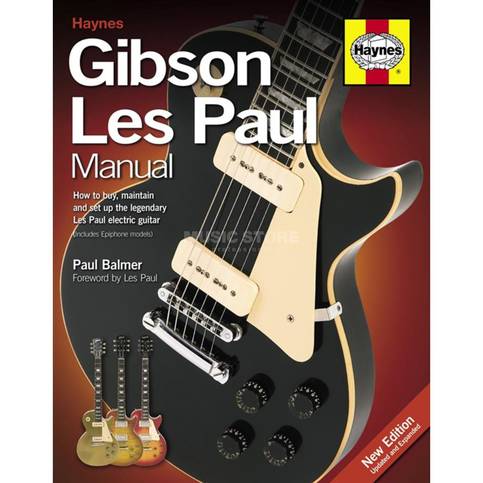 Haynes Publishing Gibson Les Paul Manual Paul Balmer, 2nd Edition Produktbild