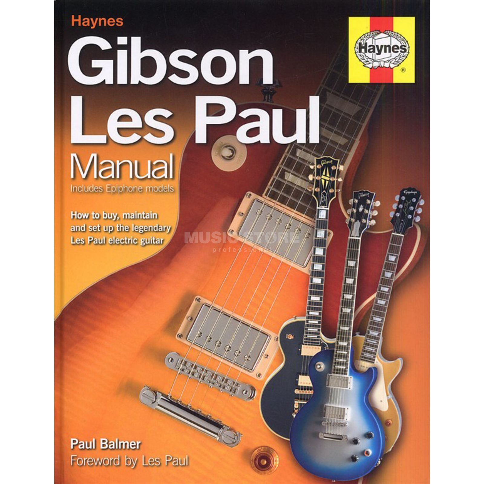 Haynes Publishing Gibson Les Paul Manual Paul Balmer Produktbild
