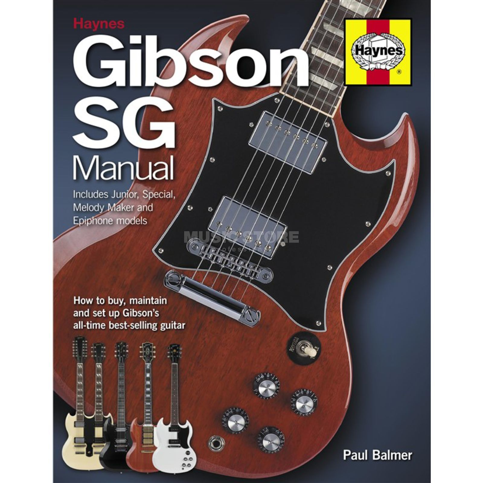 Haynes Publishing Gibson SG Manual Paul Balmer Produktbild