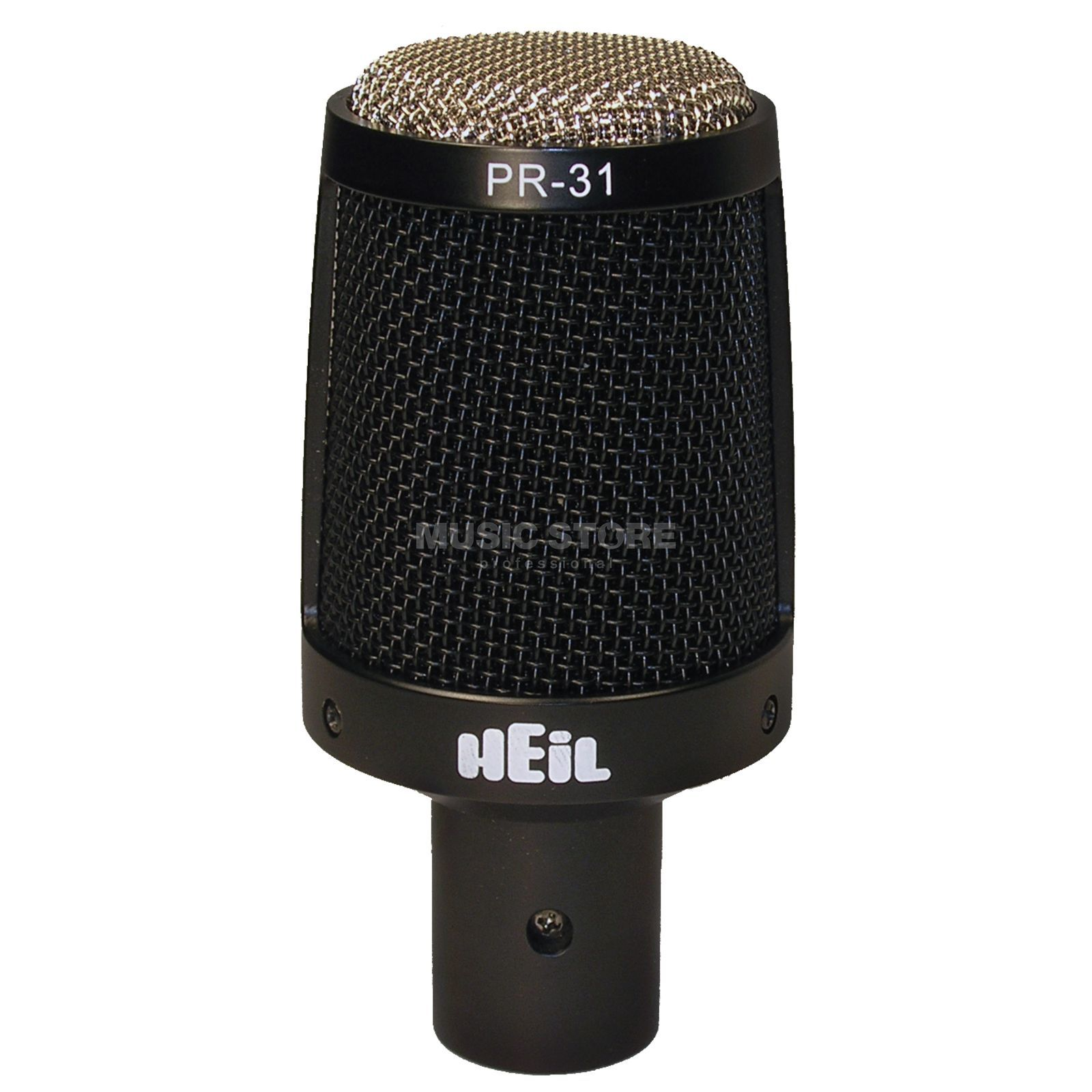 Heil Sound PR31BW Dynamic GrossMembraneMicrophone Cardioid, incl.  Microphone Holder Produktbillede