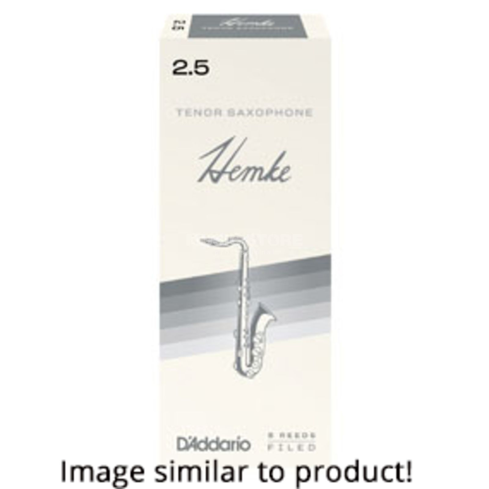 Hemke Tenor Saxophone Reeds 2.5 Box of 5 Product Image