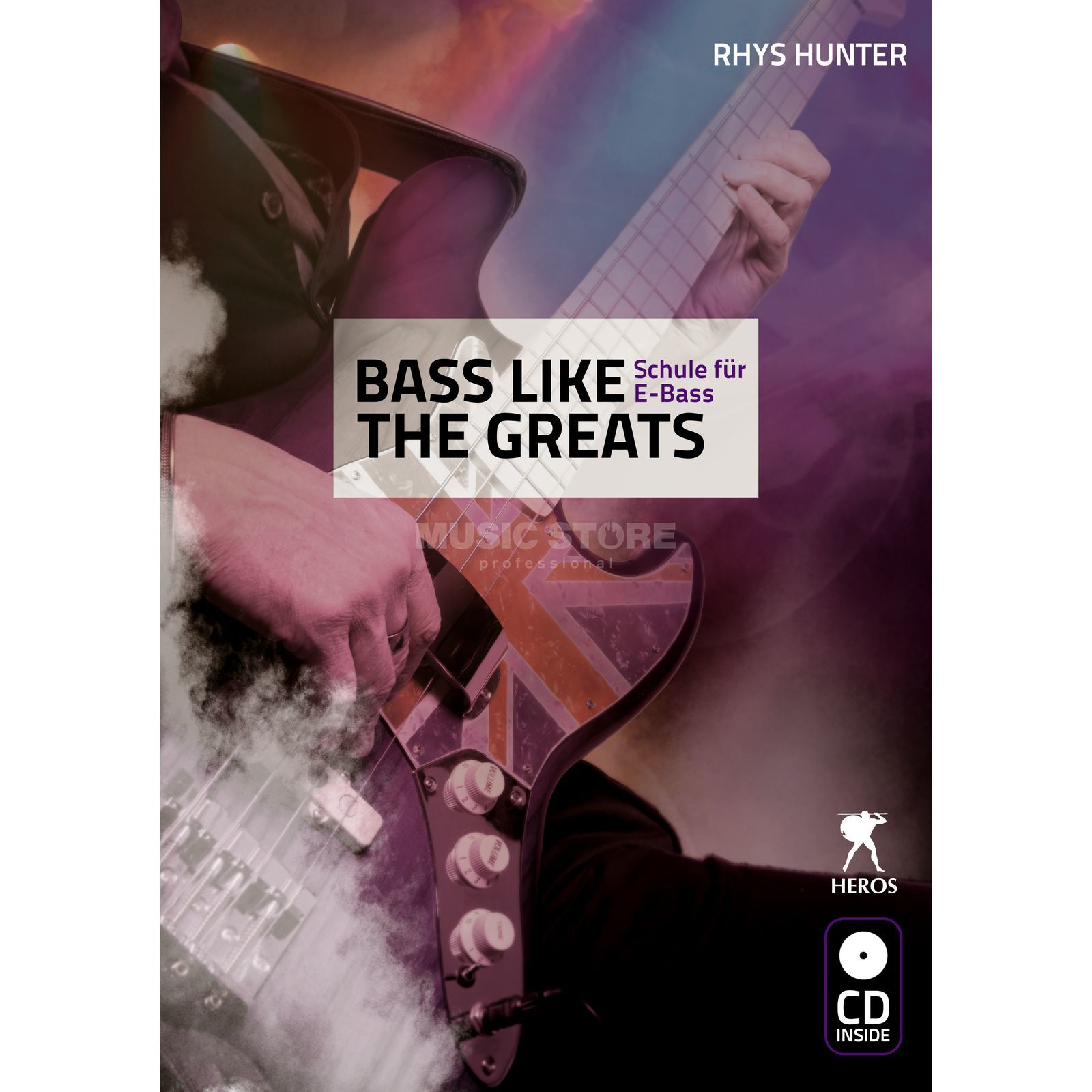 Heros-Verlag Bass Like The Greats Rhys Hunter,inkl. CD Produktbillede