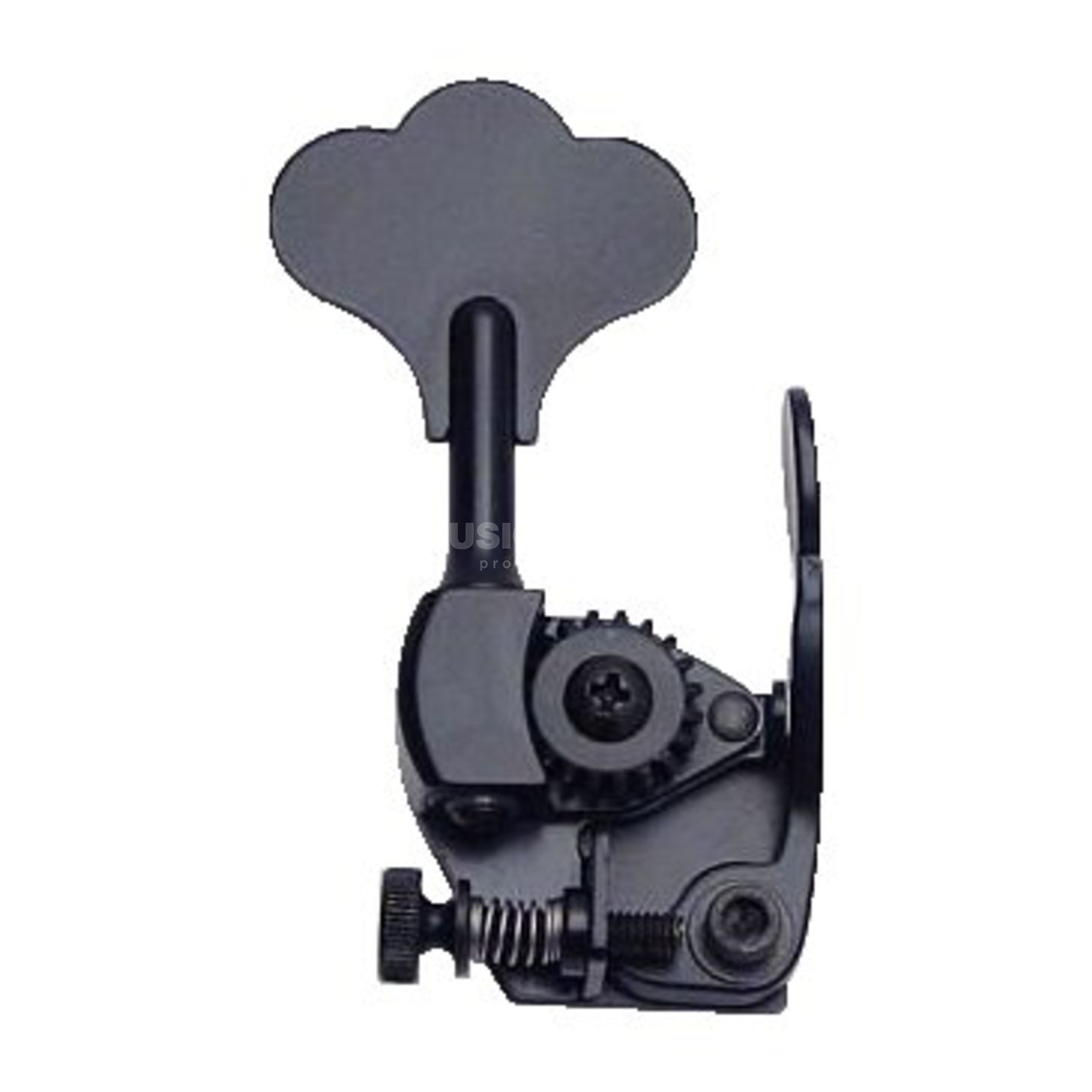 "Hipshot D'Tuner Extender Key HE6C-1/2"" Clover Key Ultralite Black Immagine prodotto"
