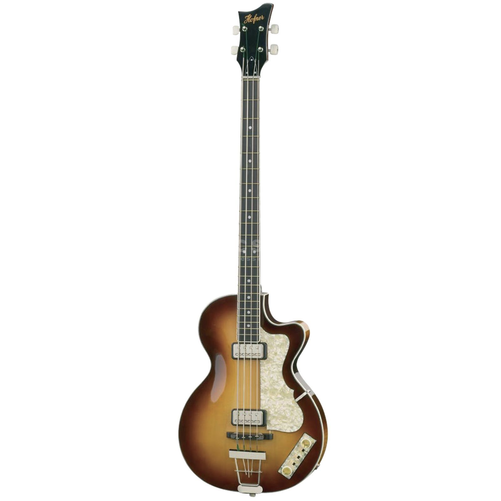 Höfner Club Bass H500/2-0 Sunburst incl. Case Produktbild