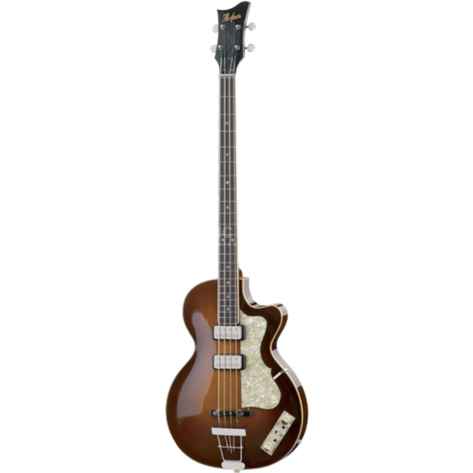 Höfner Club Bass H500/2-CV-0 Sunburst incl. Case Produktbild