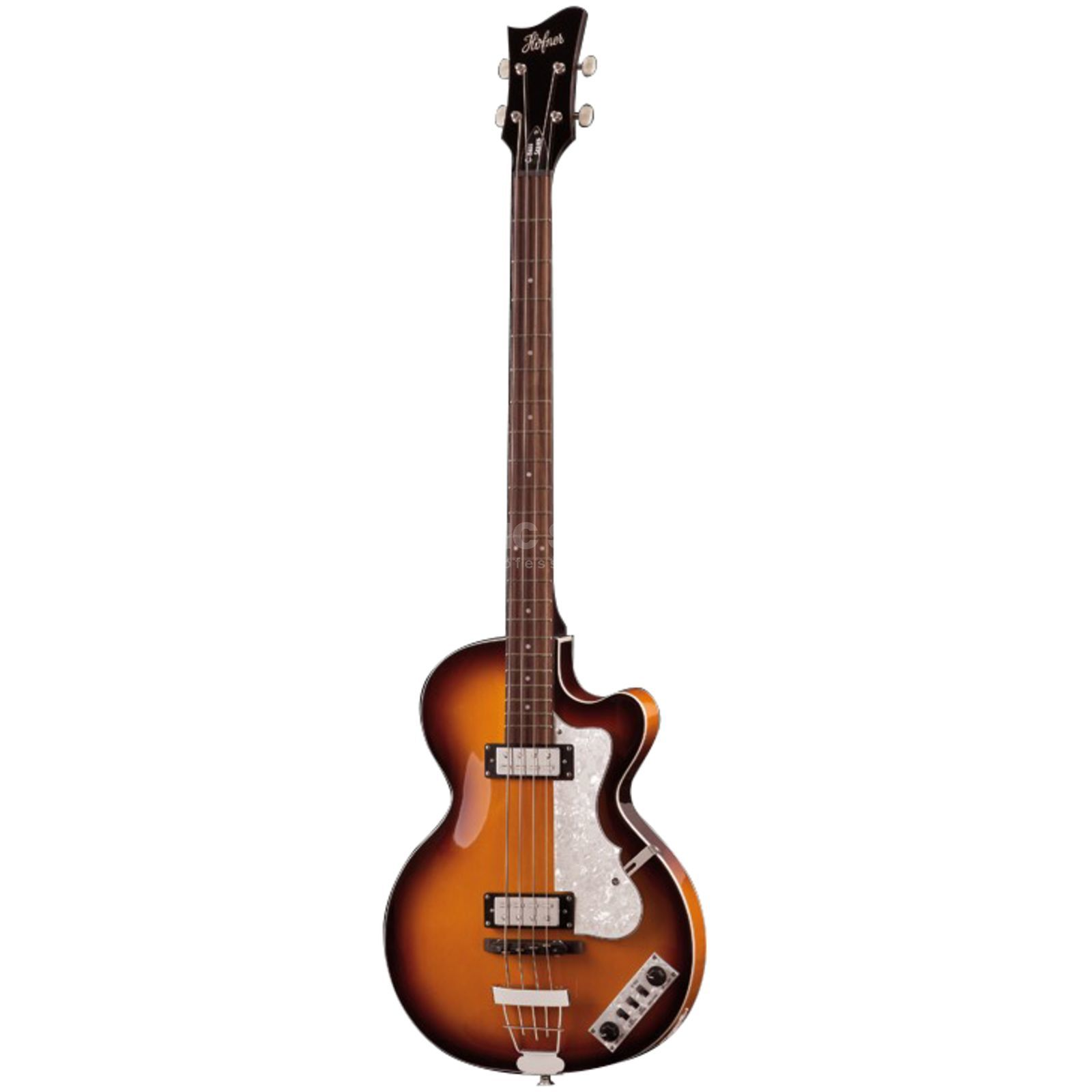 Höfner Ignition Club Bass Sunburst Imagem do produto