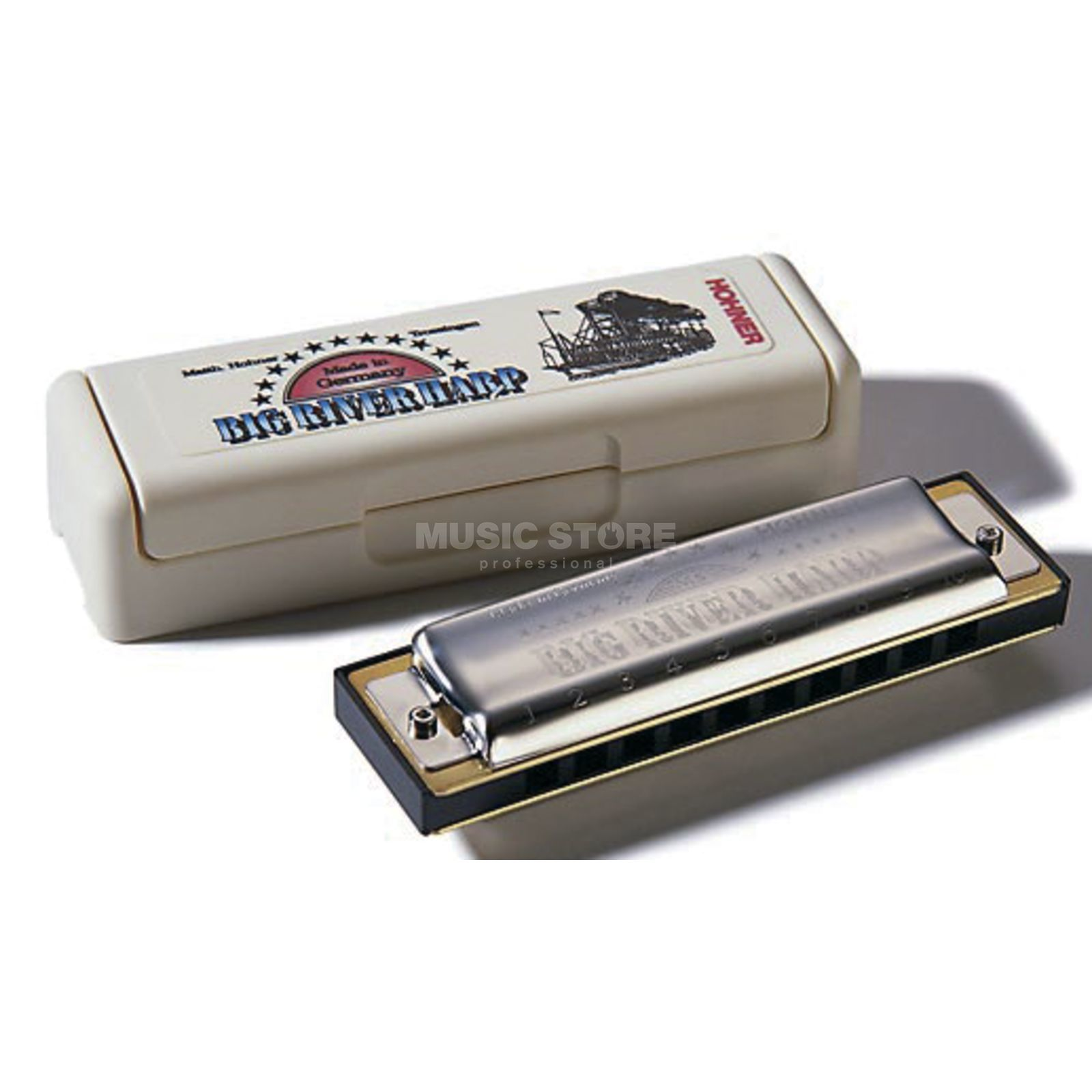 Hohner Big River Harp F MS  Product Image