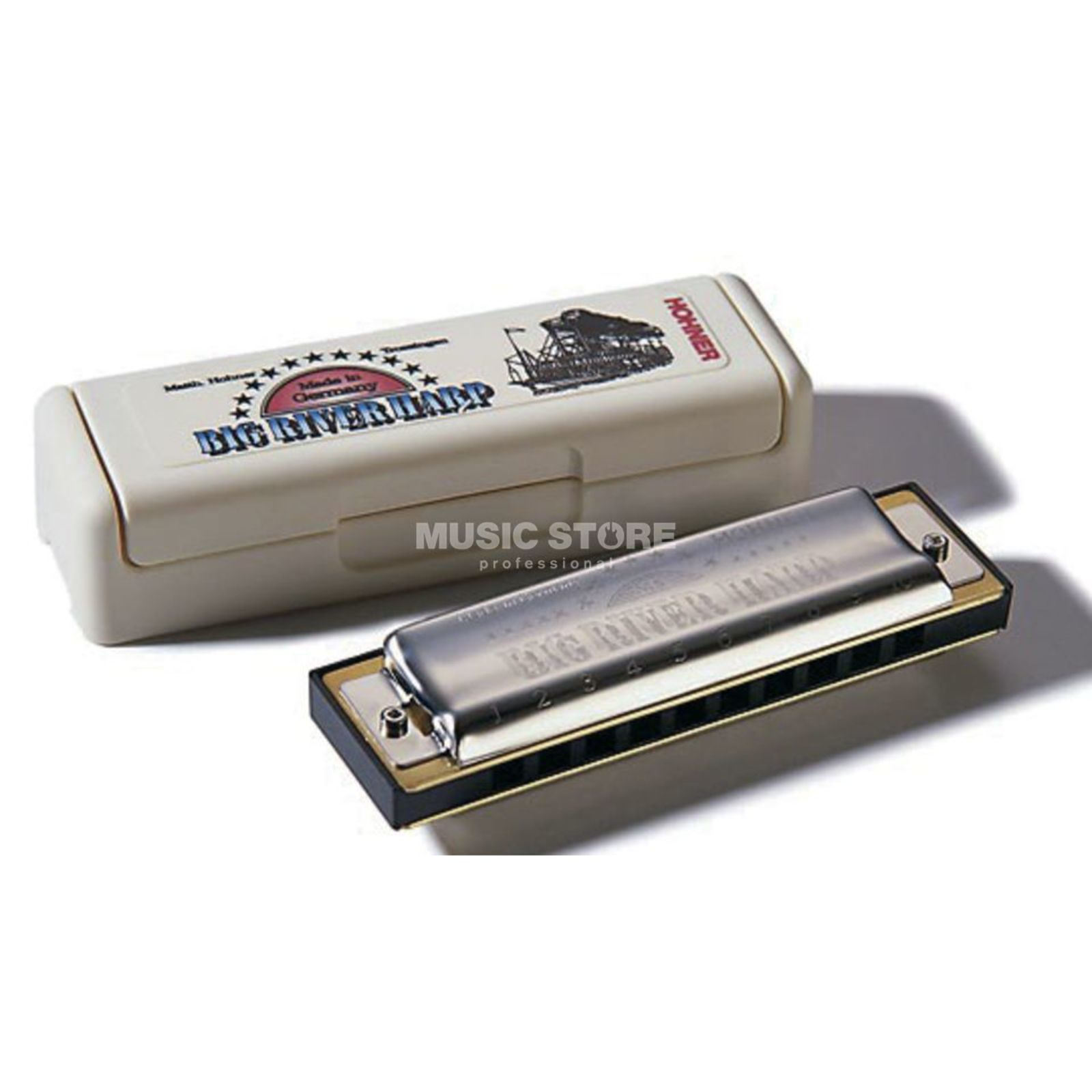 Hohner Big River Harp MS Fis Product Image