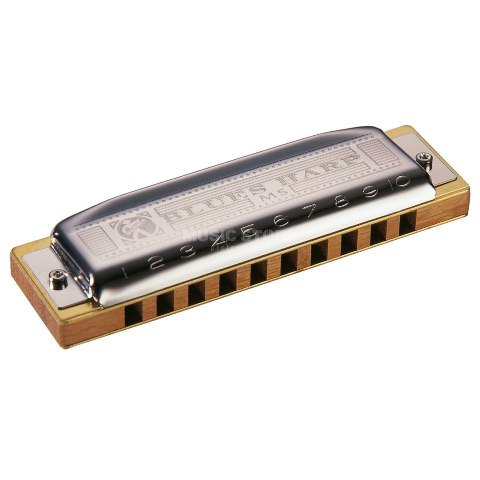 Hohner blauws Harp H MS  Productafbeelding