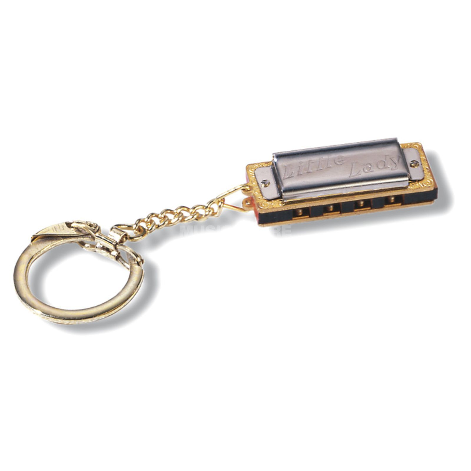 Hohner Little Lady with key-ring harmonica C Major, ca. 3.5cm Image du produit