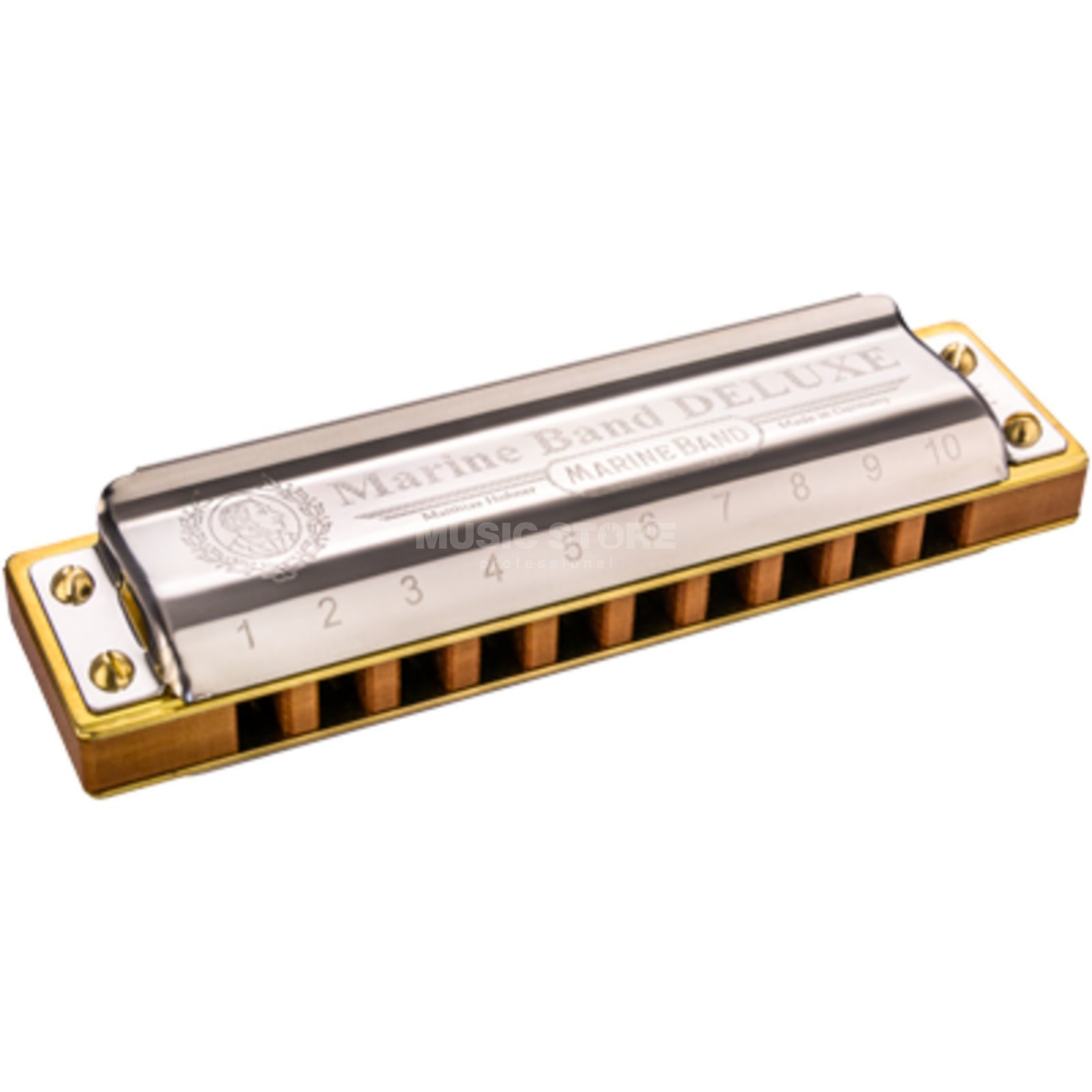 Hohner Marine Band Deluxe Bb  Product Image