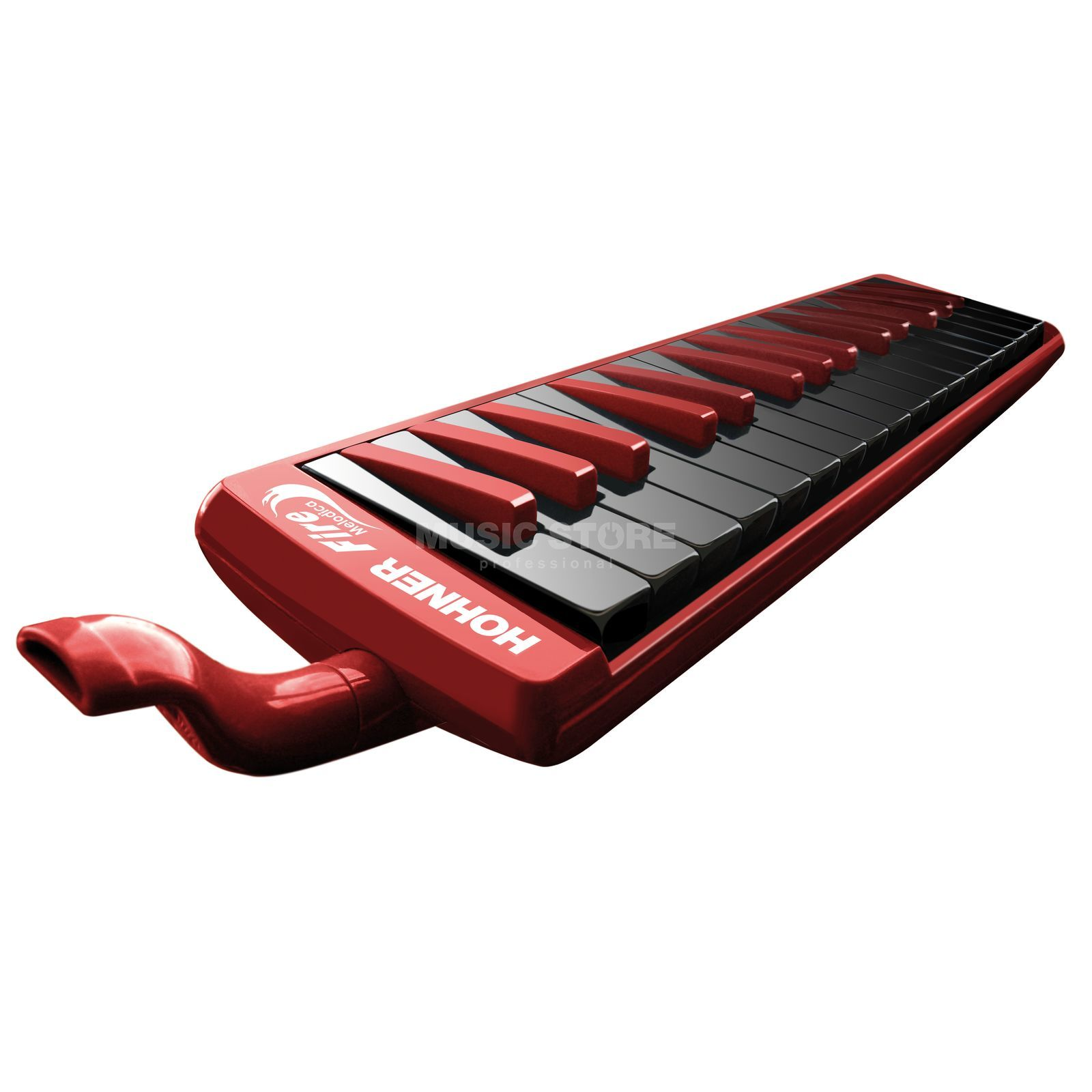 "Hohner Melodica 32 ""Fire""  Etui en accessoires Productafbeelding"