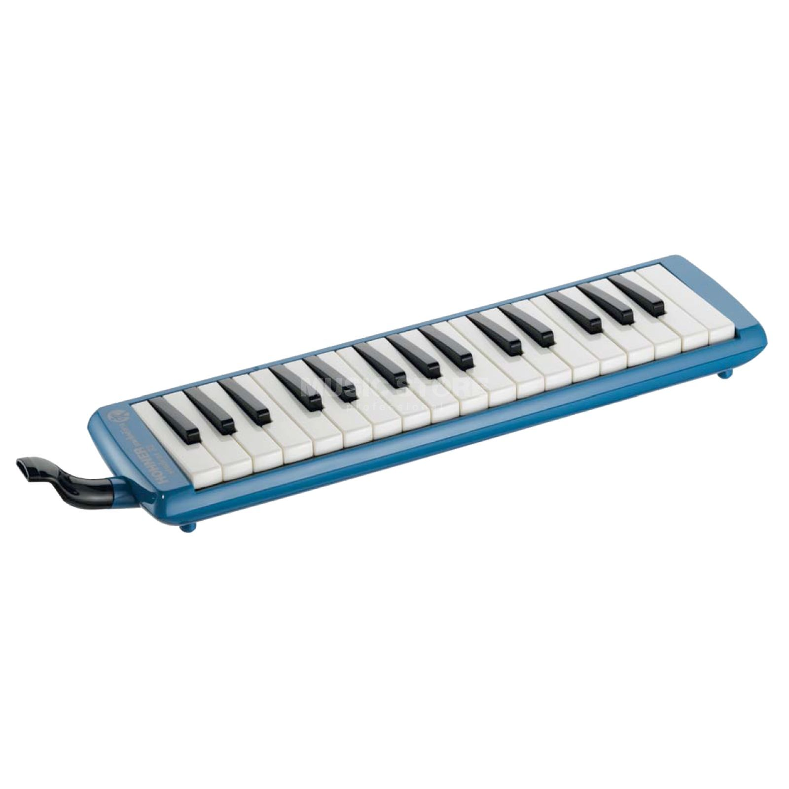 "Hohner ""Student 32"" Melodica Blue Incl. Case and Accesories Produktbillede"
