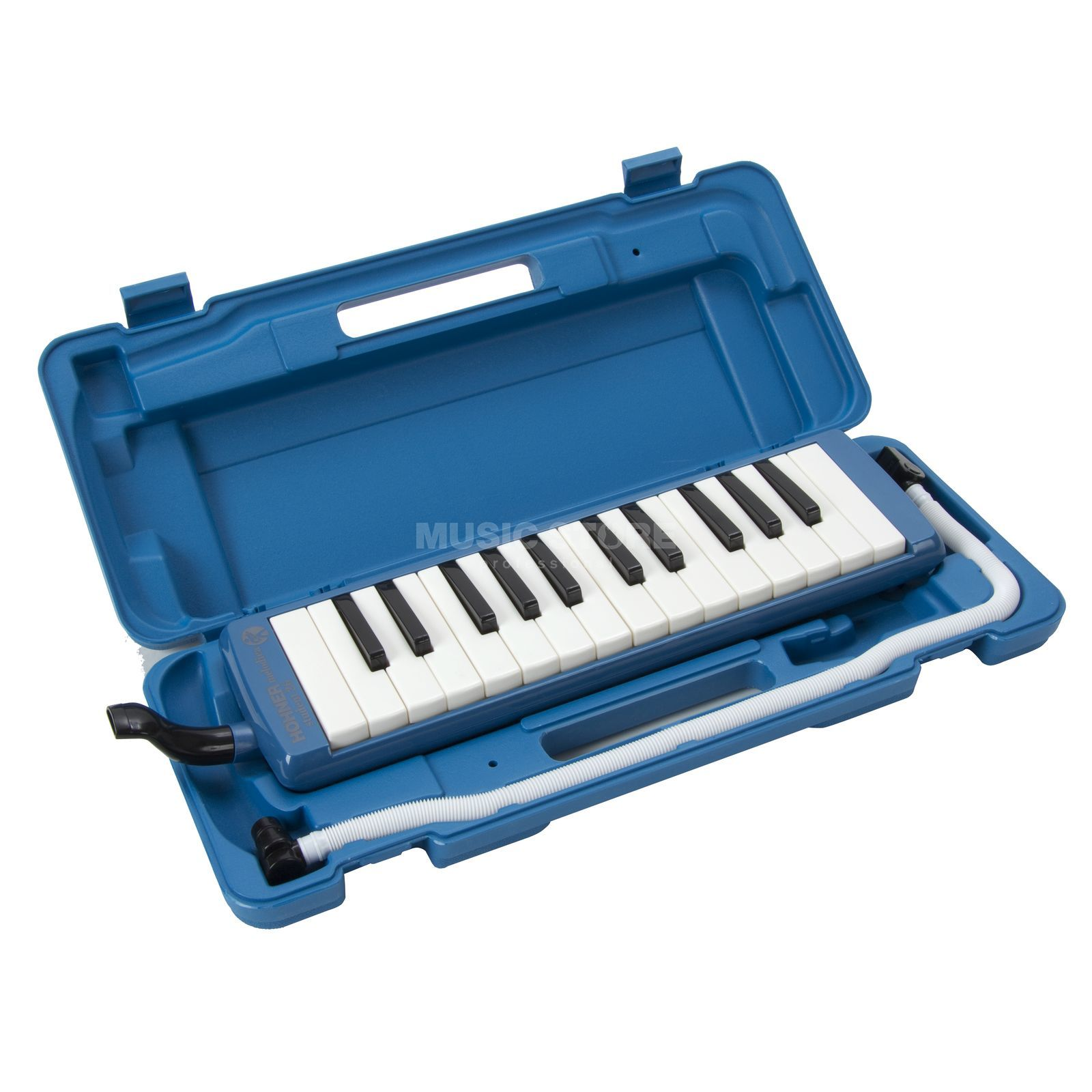 Hohner Student Melodica 26 - Blue incl. Bag and Accessories Produktbillede