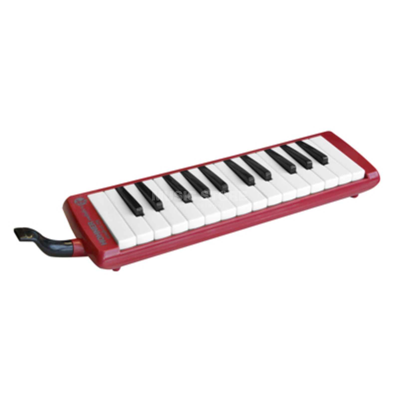 Hohner Studet Melodica 26 rood incl. Etui en accessoires Productafbeelding